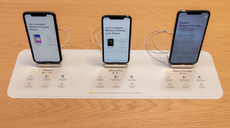 iPhone 11 pricing mats