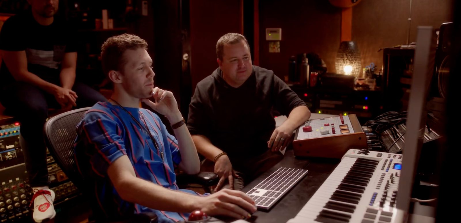 Renowned music producers put the Mac Pro to the test with Logic Pro X session