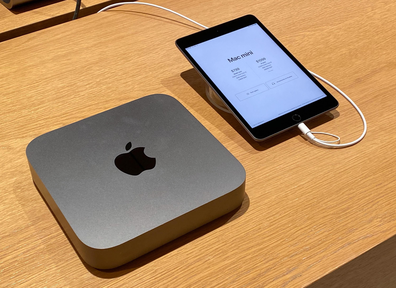 Mac mini without display