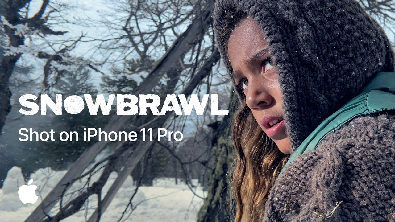 photo of Apple's latest 'Shot on iPhone 11 Pro' video showcases a cinematic snowball fight image