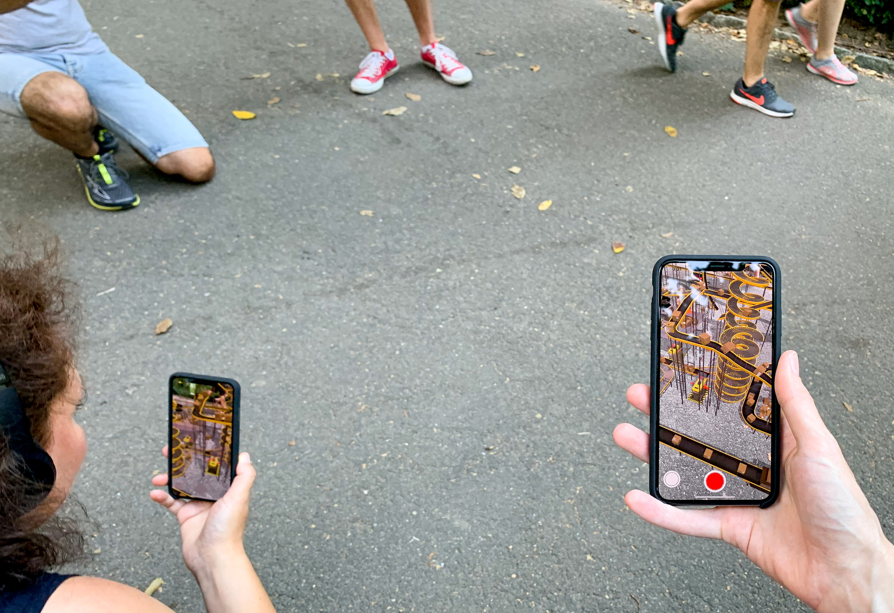Augmented Reality Walk Fifth Avenue