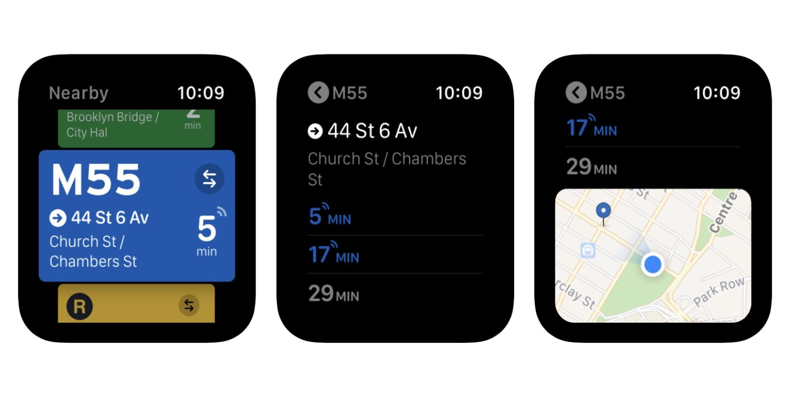 Transit delivers promised Apple Watch app return with wheelchair-accessible trips and more