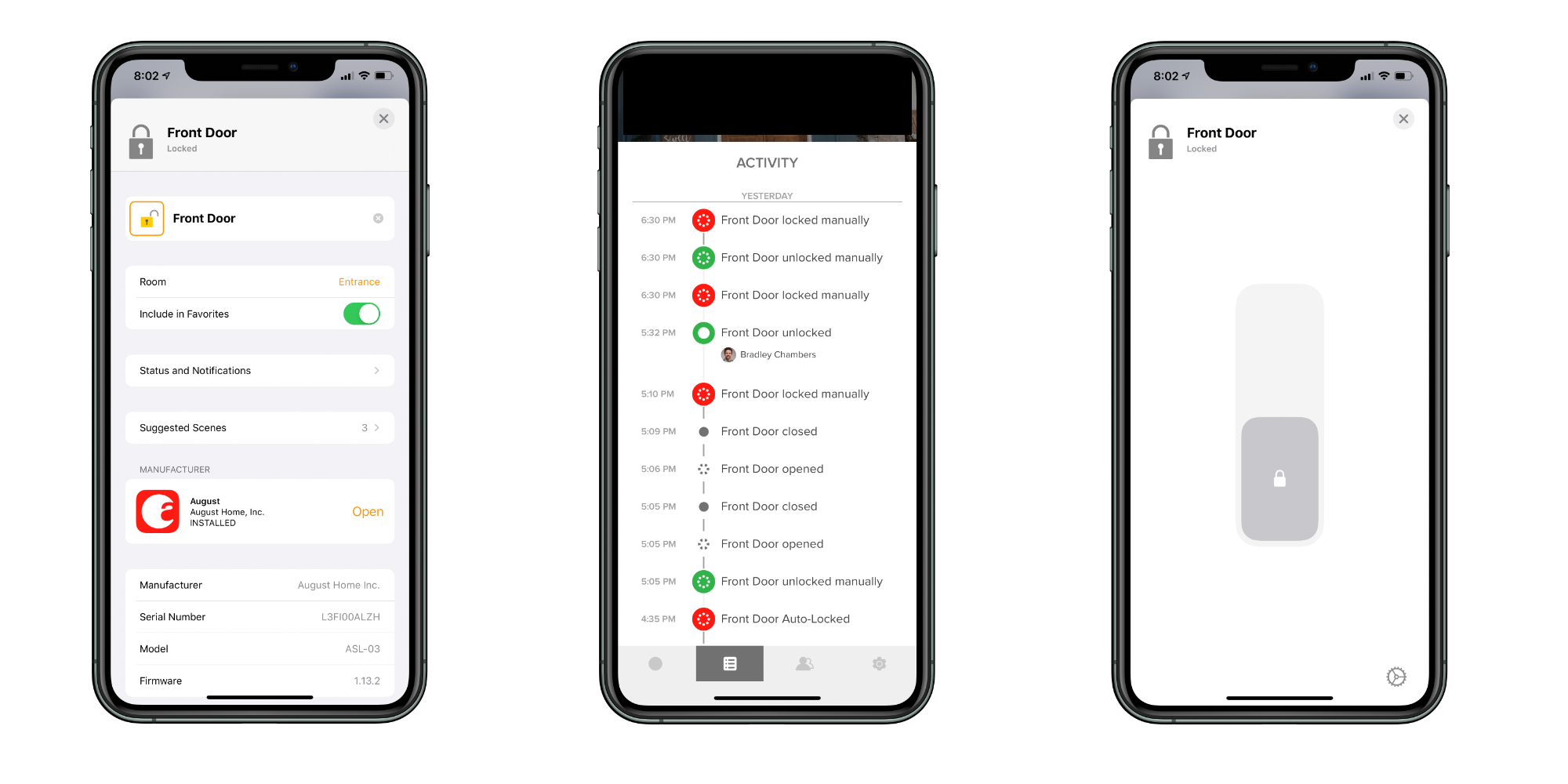 August Smart Lock Pro app