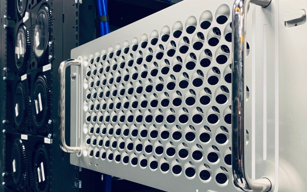 Here's our first look at Apple's brand new rack-mounted Mac Pro
