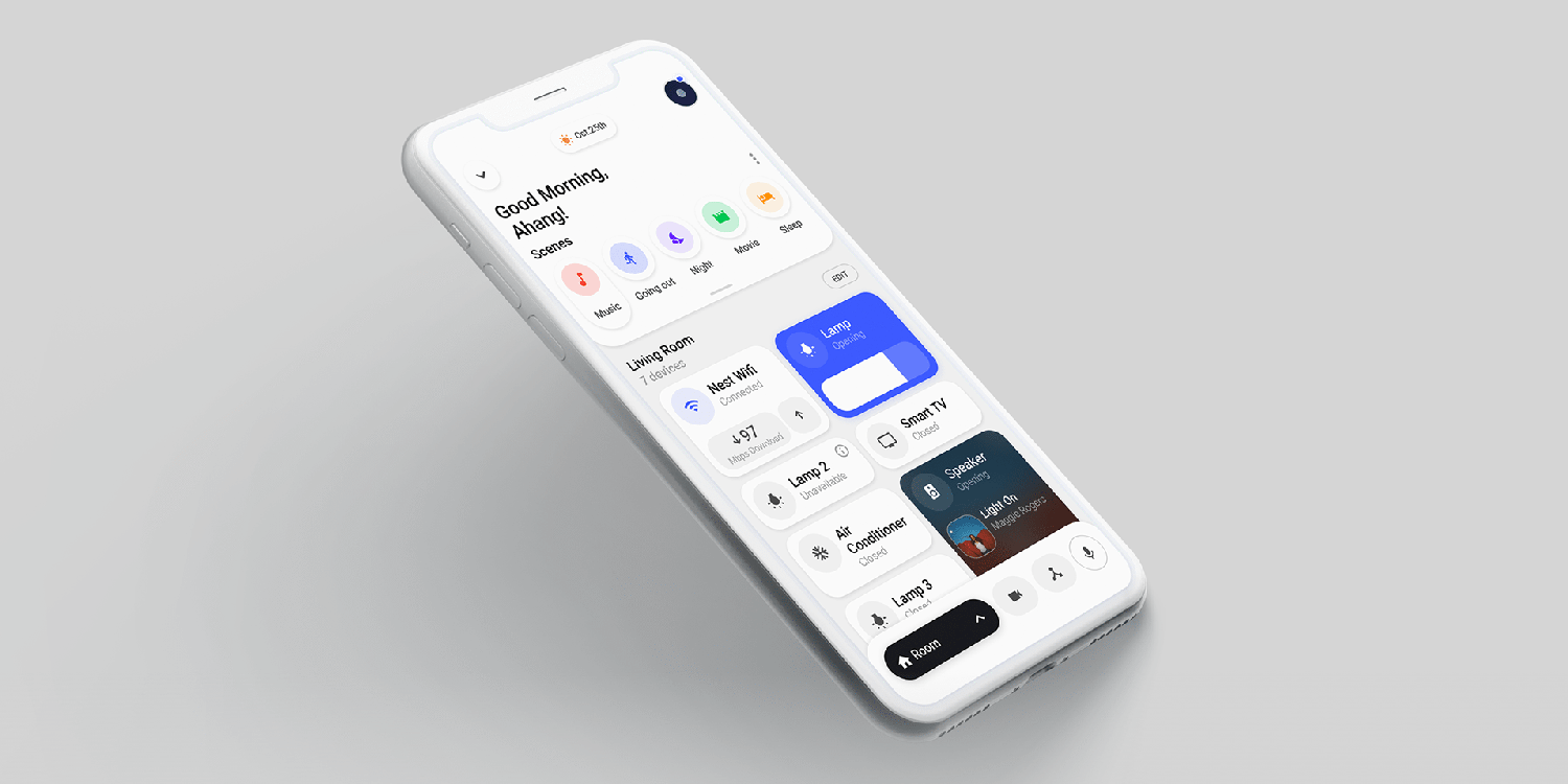 Home app concept imagines a fully-flexible layout, more streamlined control