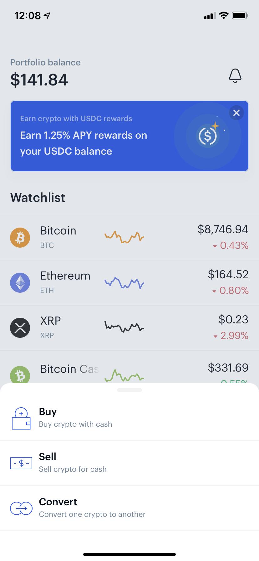 buy bitcoin iphone