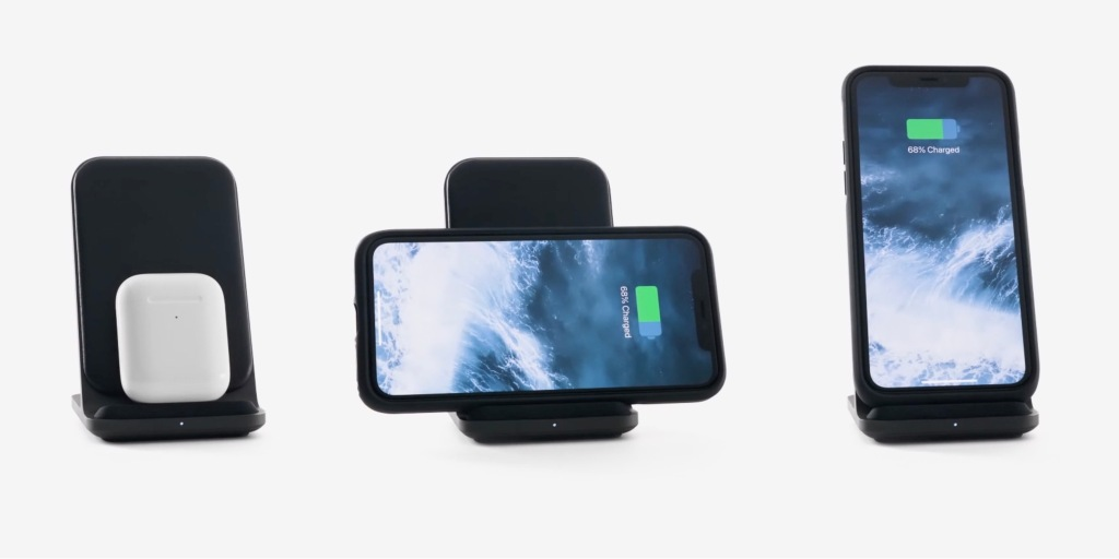 photo of Nomad unveils Base Station Stand charger with leather + aluminum design, AirPods support, more image