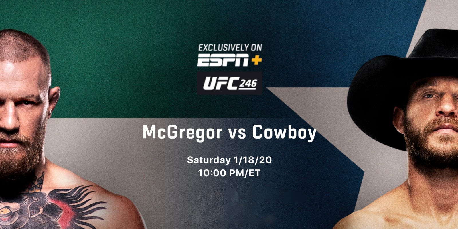 How to watch UFC 246 McGregor vs Cowboy on iPhone, iPad, Mac, and Apple TV