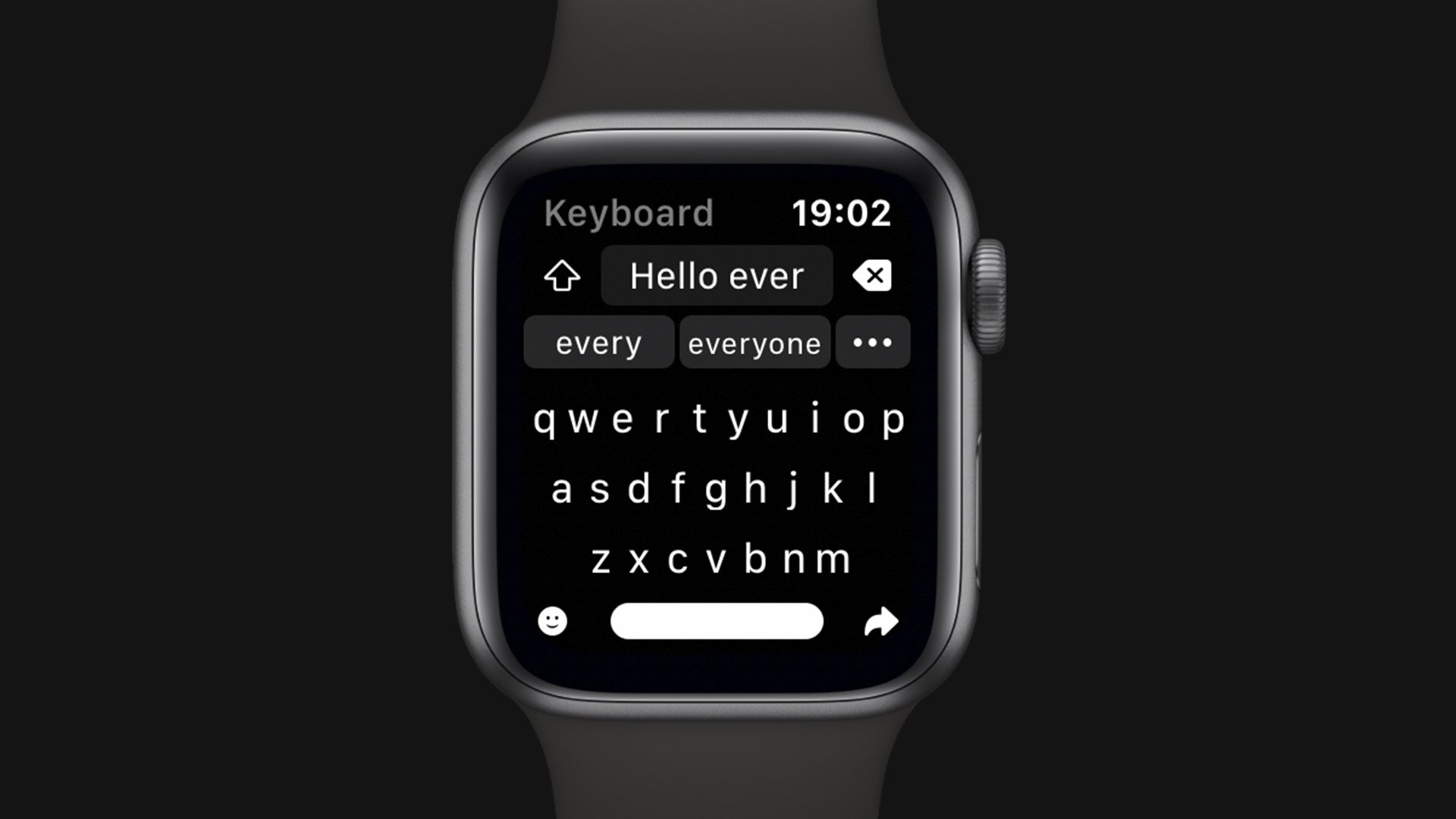 Shift Keyboard introduces a new way to write messages on Apple Watch - 9to5Mac