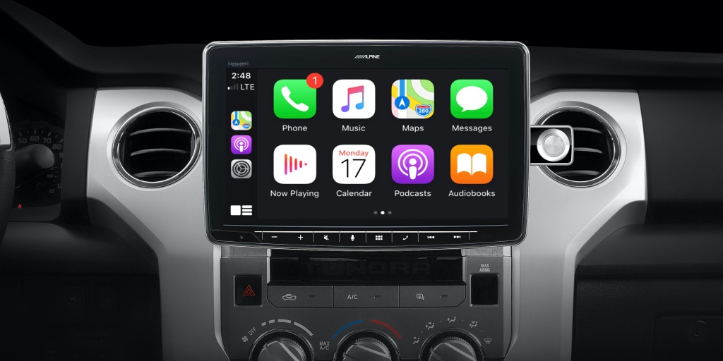 Alpine debuts giant iPad Pro-sized CarPlay receiver plus first weather-resistant 9-inch CarPlay option for Jeep Wrangler