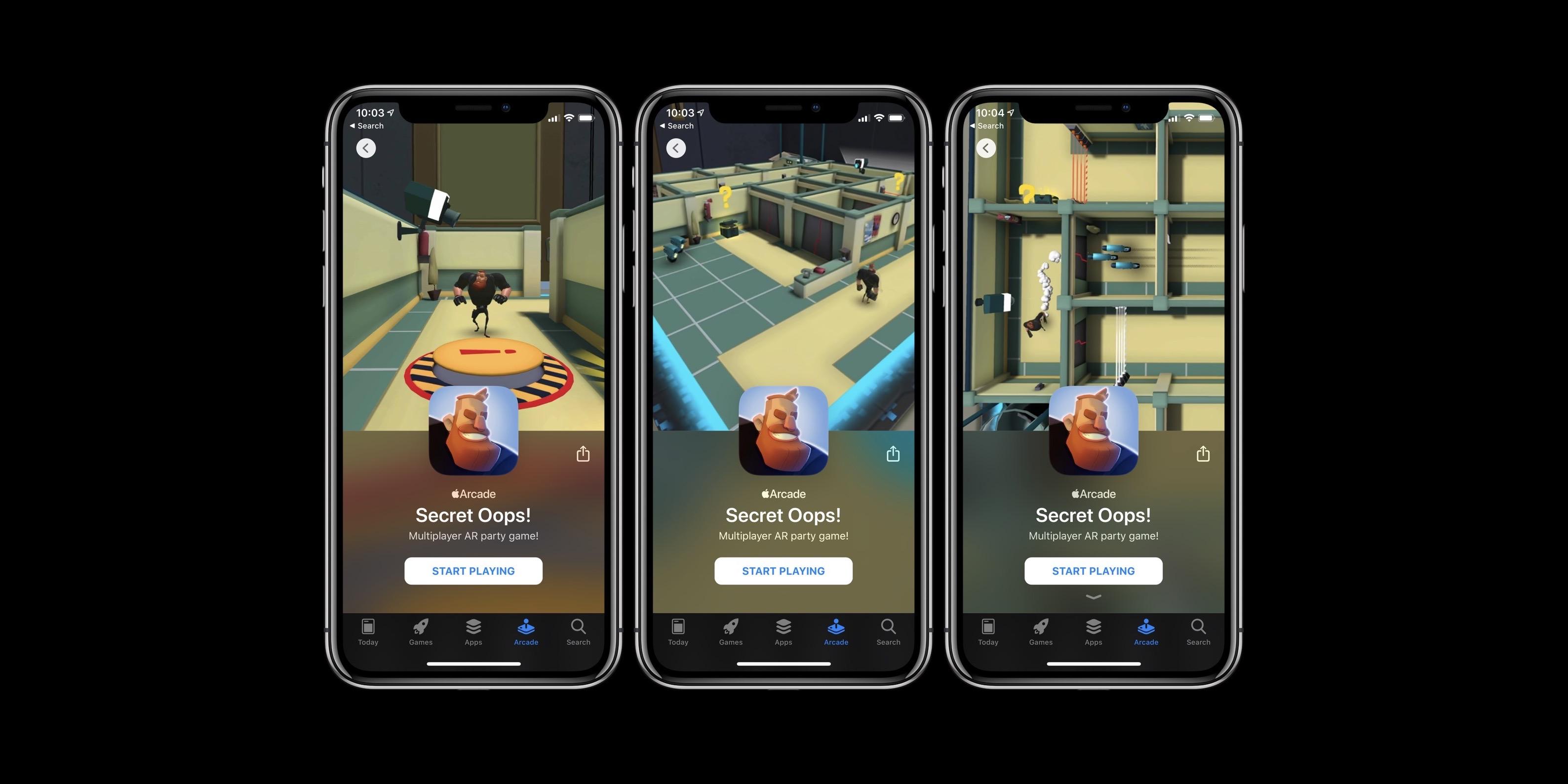 Apple Arcade nouveau jeu 1/31