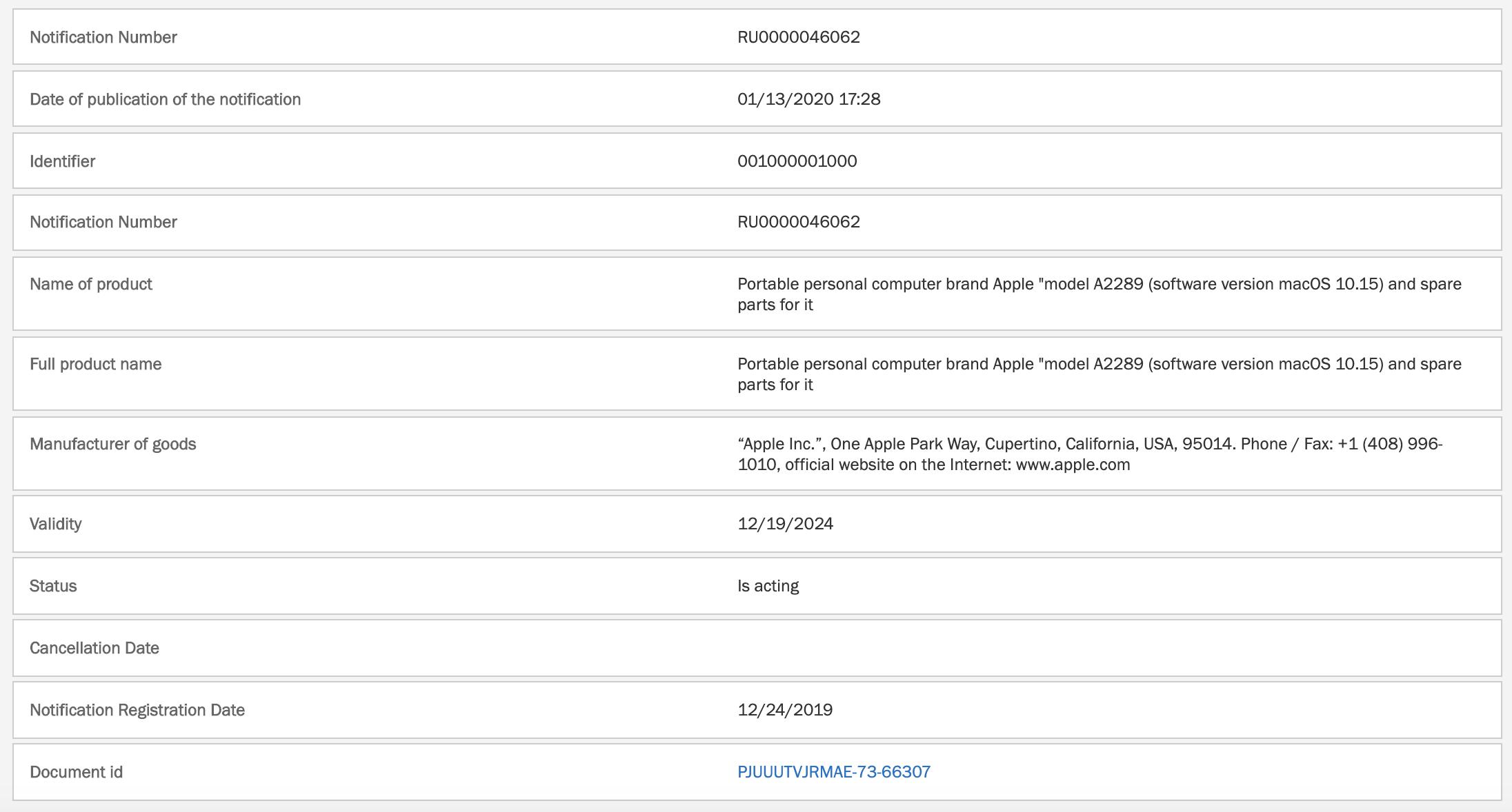 Apple MacBook filing scissor switch keyboard?