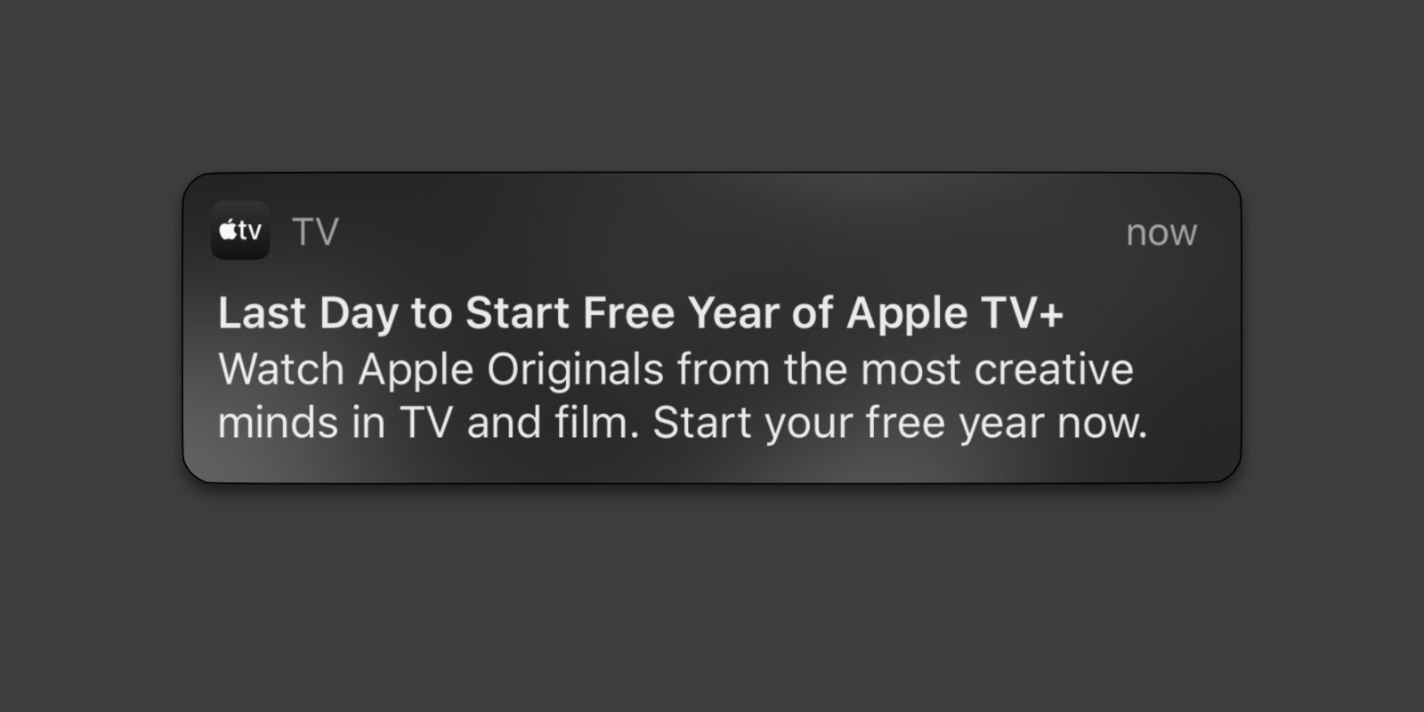 This could be your last chance to get a free year of Apple TV+