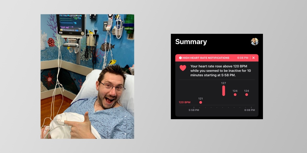 photo of Apple Watch alerts popular YouTuber to tachycardia caused by dehydration and stress image