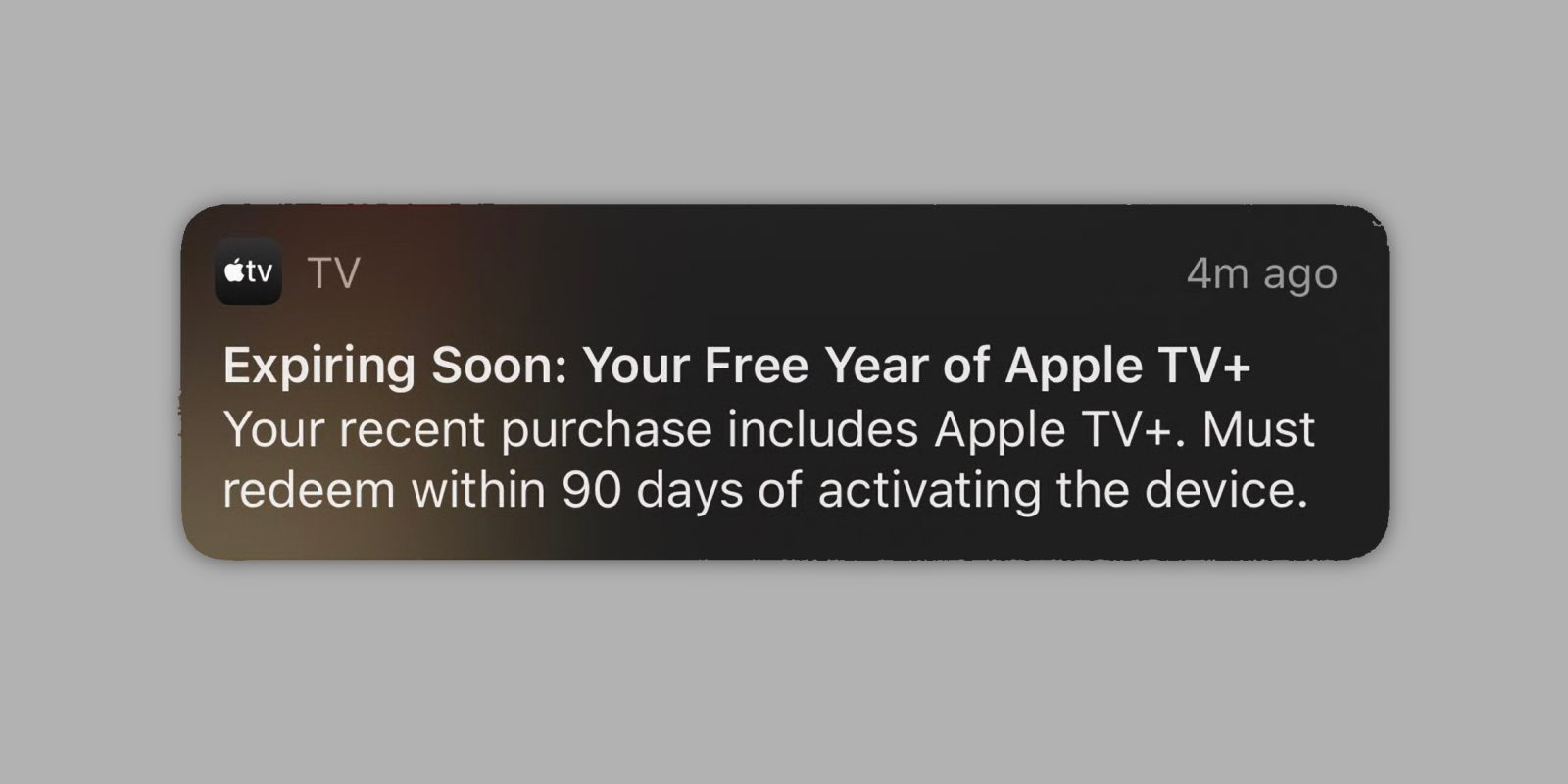 Apple reminding customers to redeem their free year of Apple TV+ as offer deadline approaches