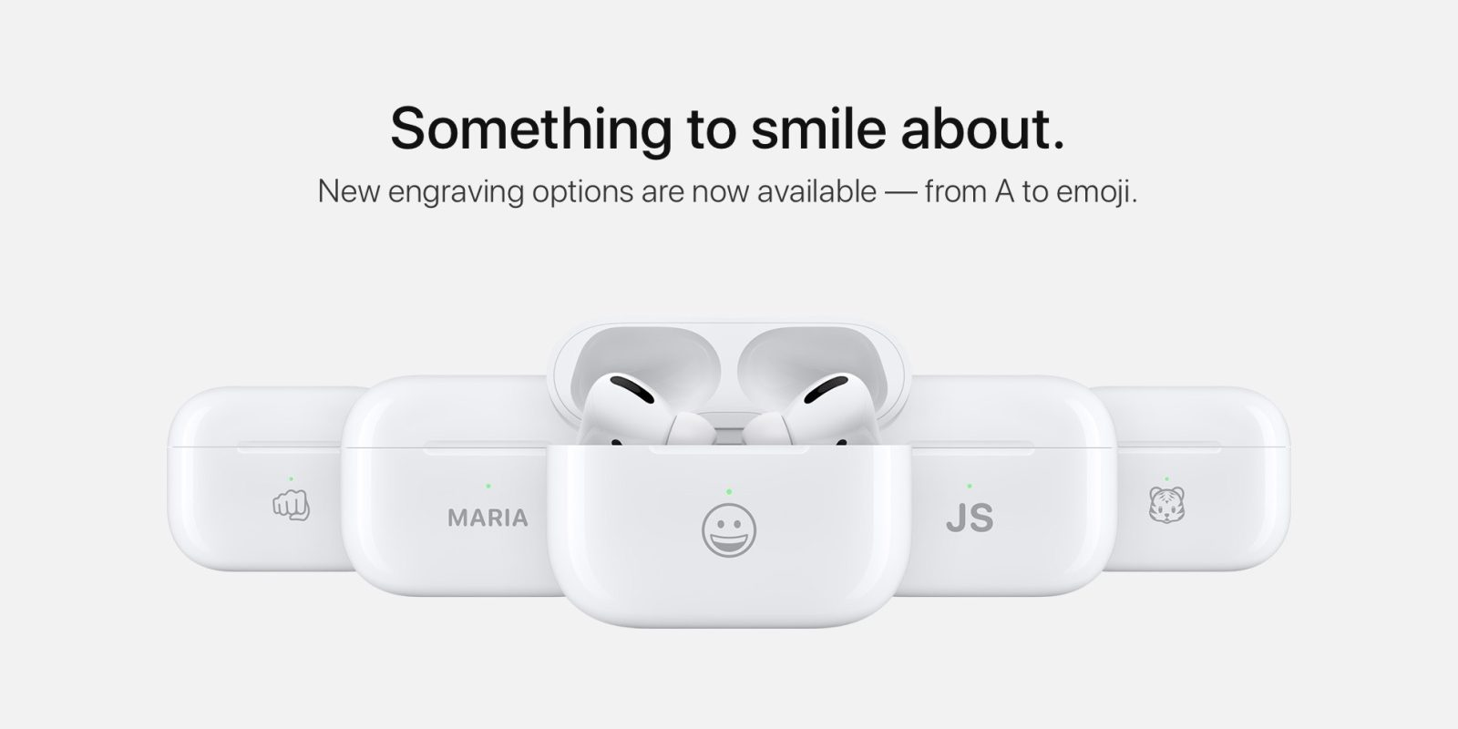 AirPods can now be engraved with select emoji as Apple refreshes exclusive font