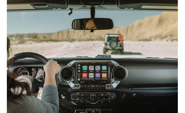 Jeep Wrangler 9-inch CarPlay