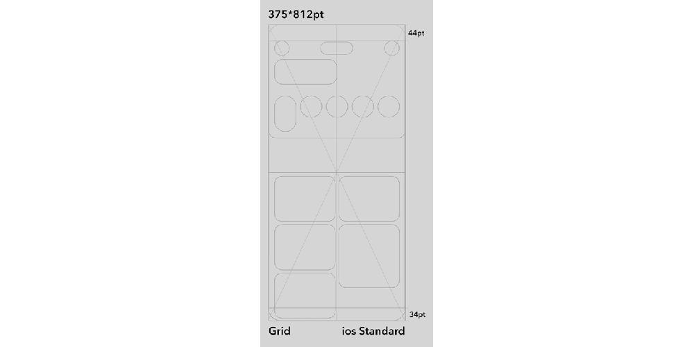 Home app concept – grid
