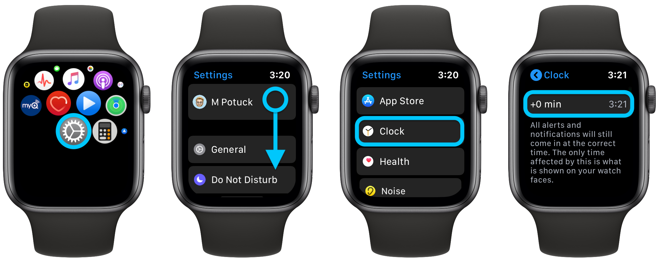 How to set Apple Watch ahead walkthrough 1
