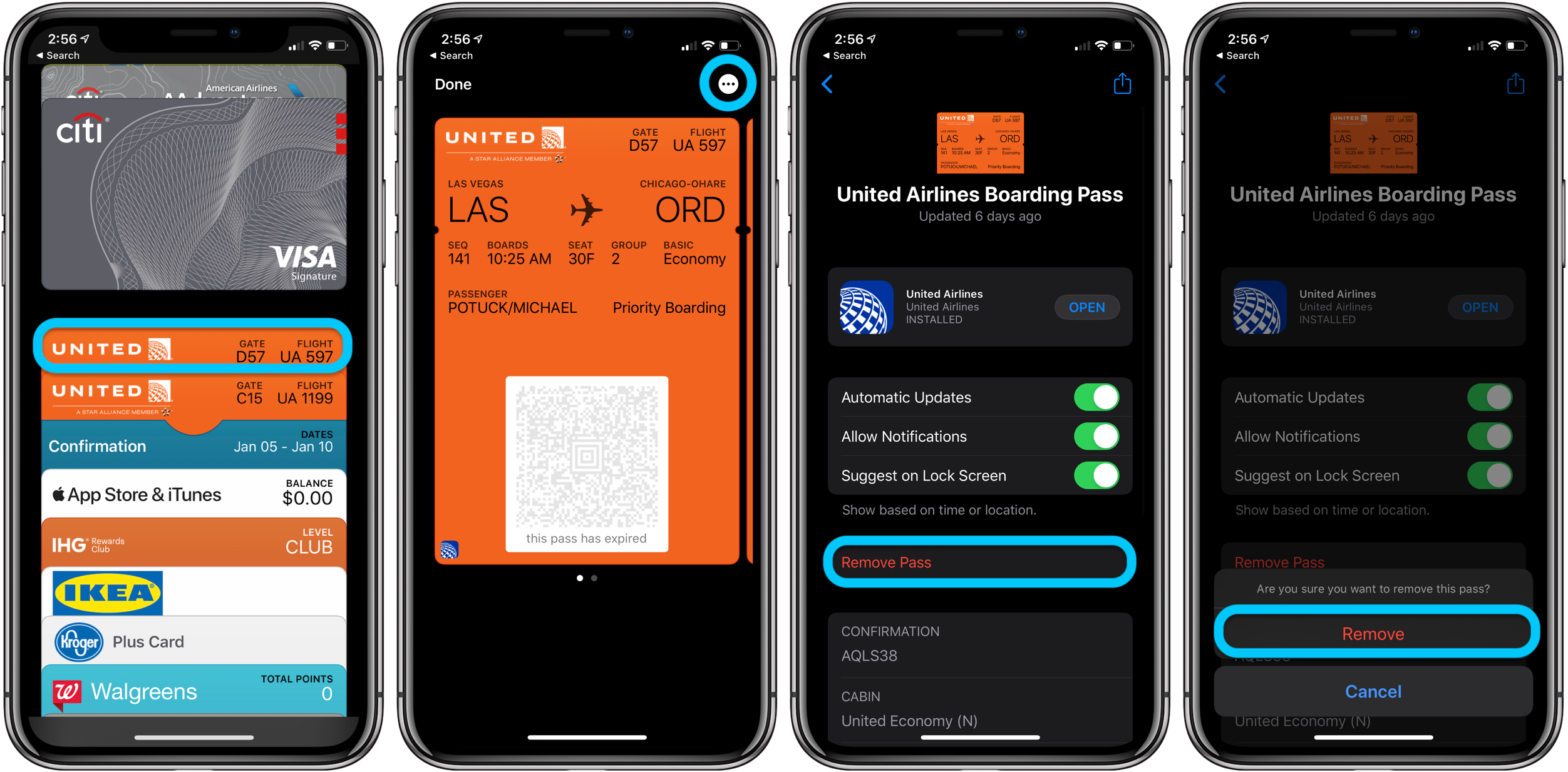 How to organize or delete Apple Wallet cards and passes 1