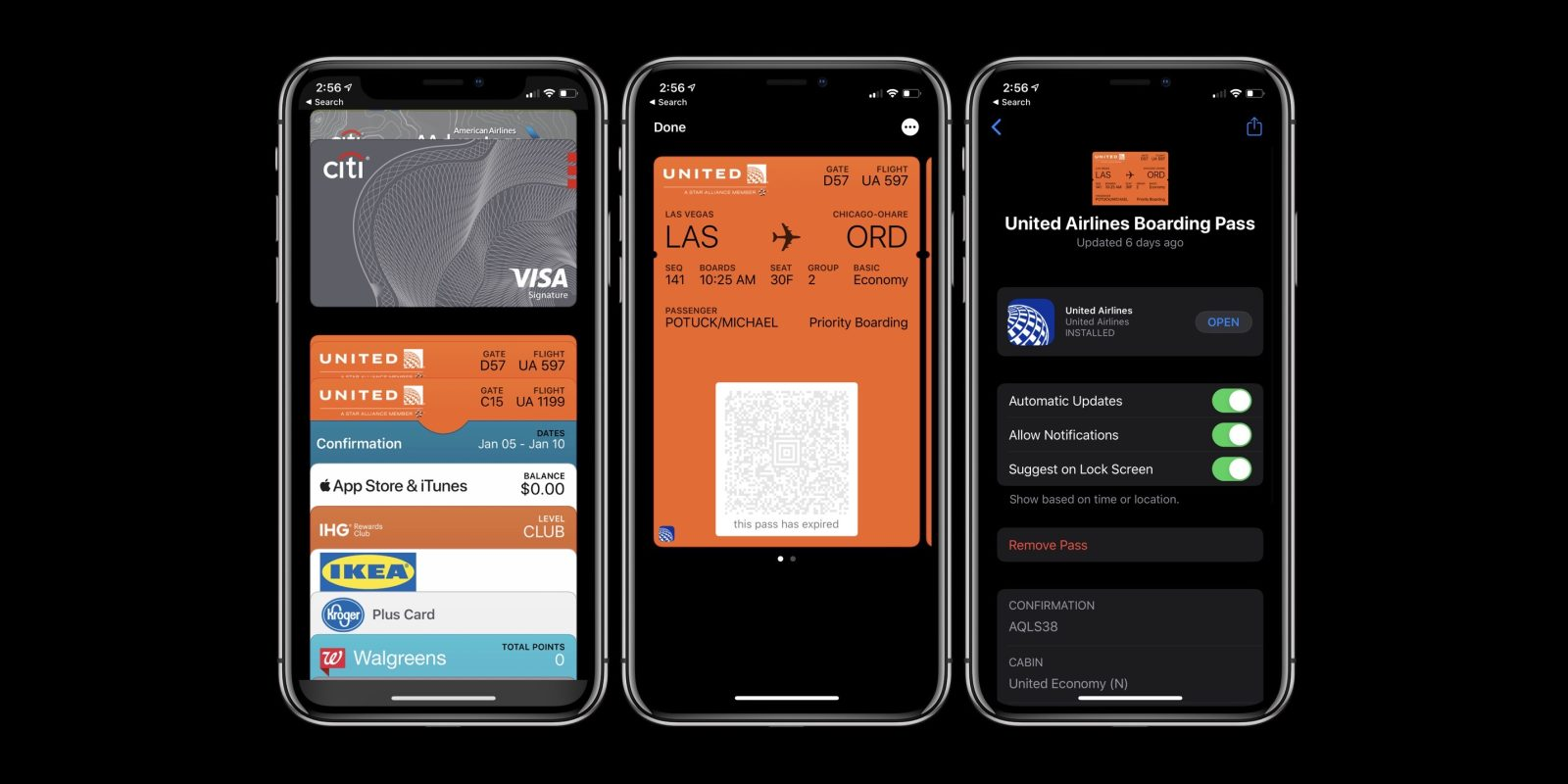 How to organize and delete Apple Pay cards and passes