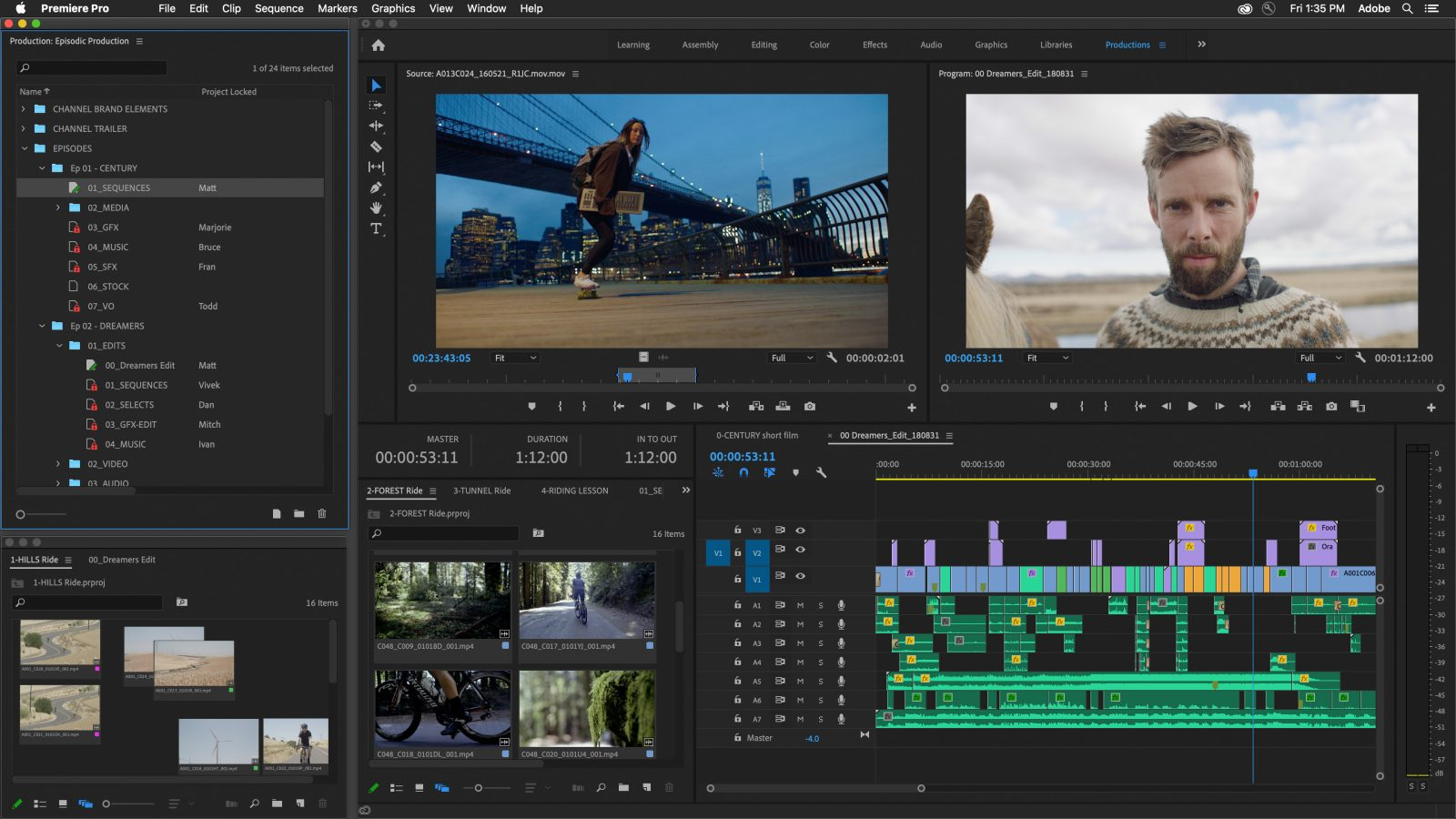 Adobe previews new project management and collaboration tools coming to Premiere Pro