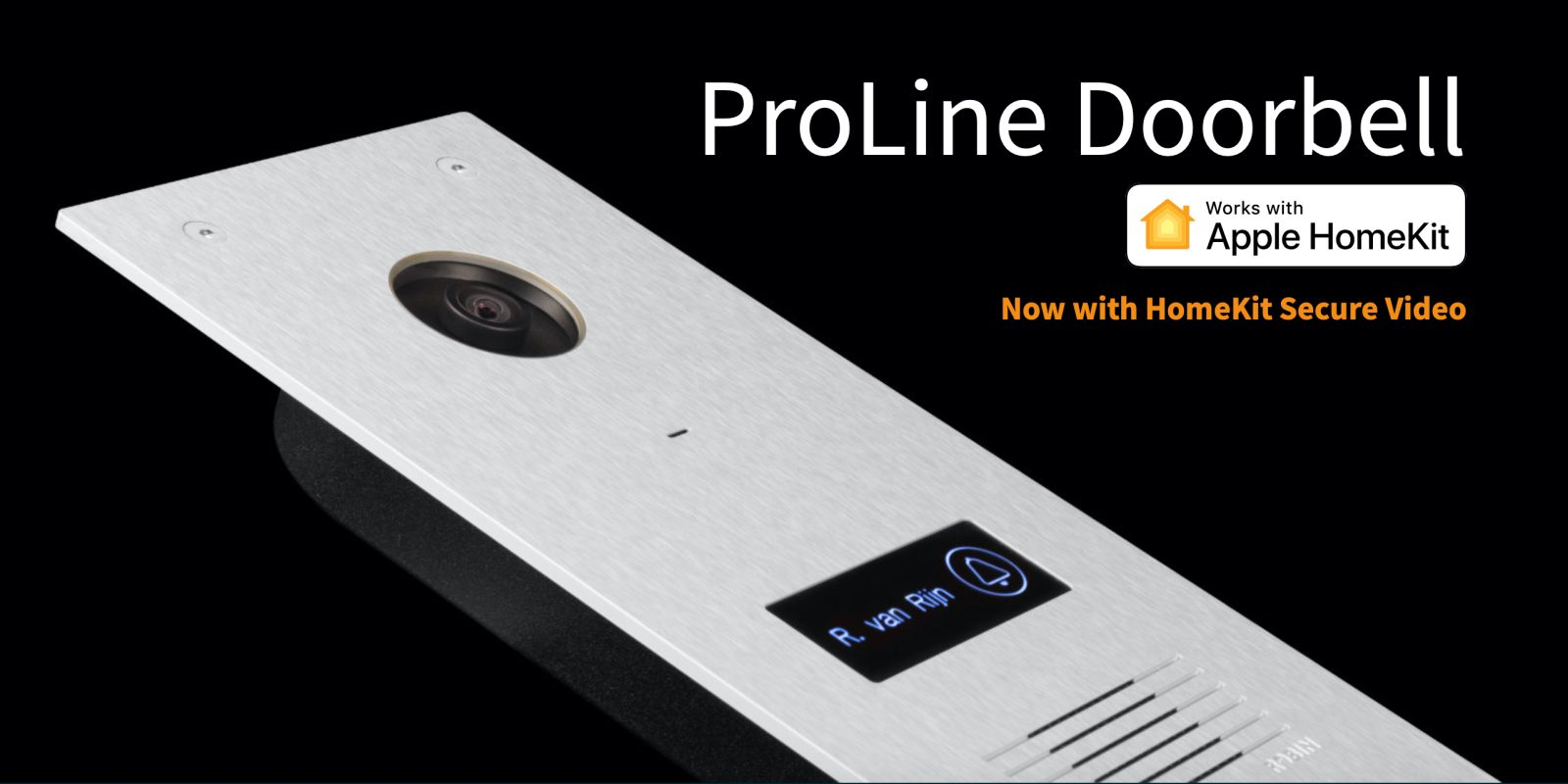 Robin ProLine is the first HomeKit Secure Video doorbell