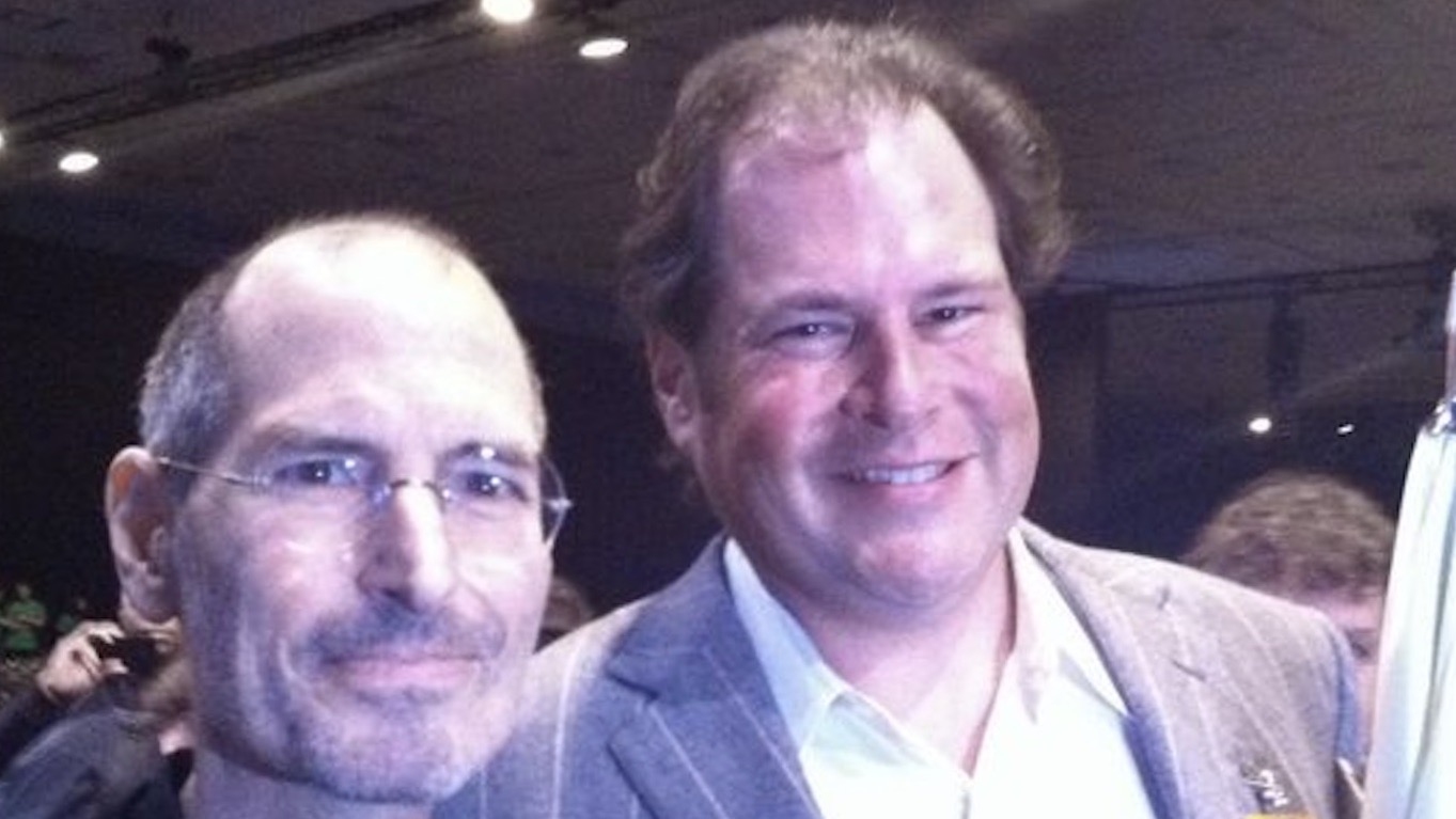 The inside story of the 'AppStore', Salesforce's Marc Benioff, and a gifted URL to Steve Jobs
