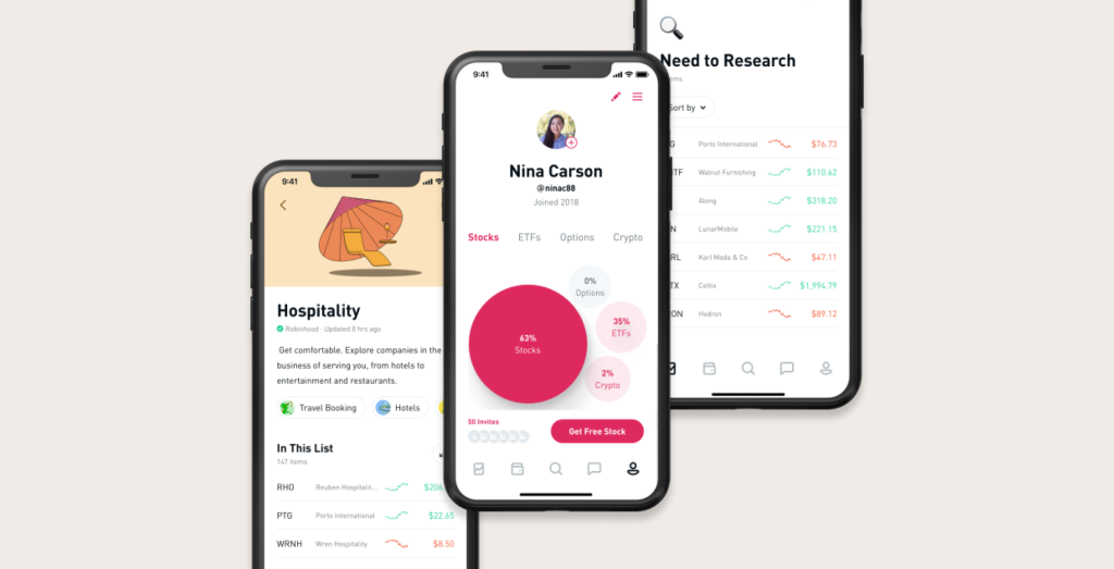Robinhood for iOS adds new profiles feature, additional customization options, more - 9to5Mac