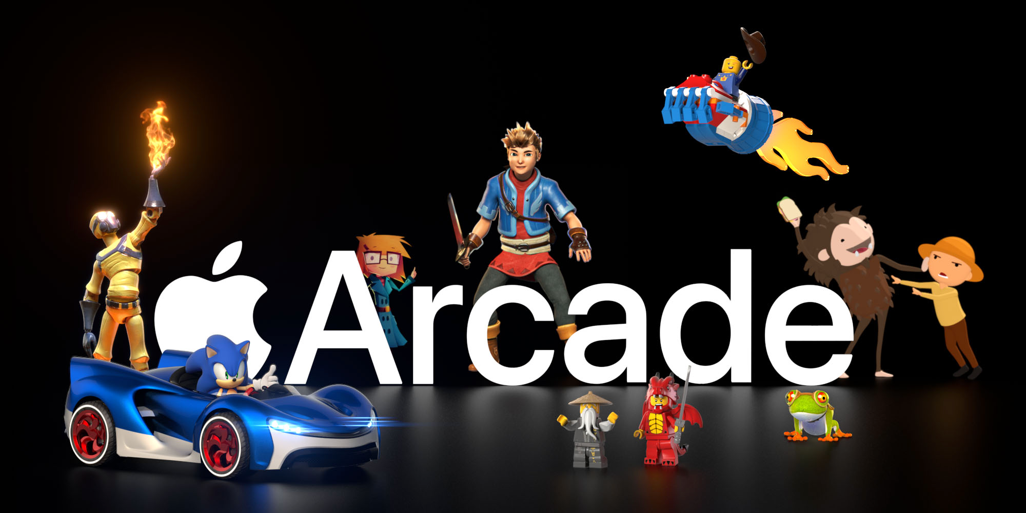 Apple Arcade scores an Apple․com takeover with this must-see, whimsical promotion