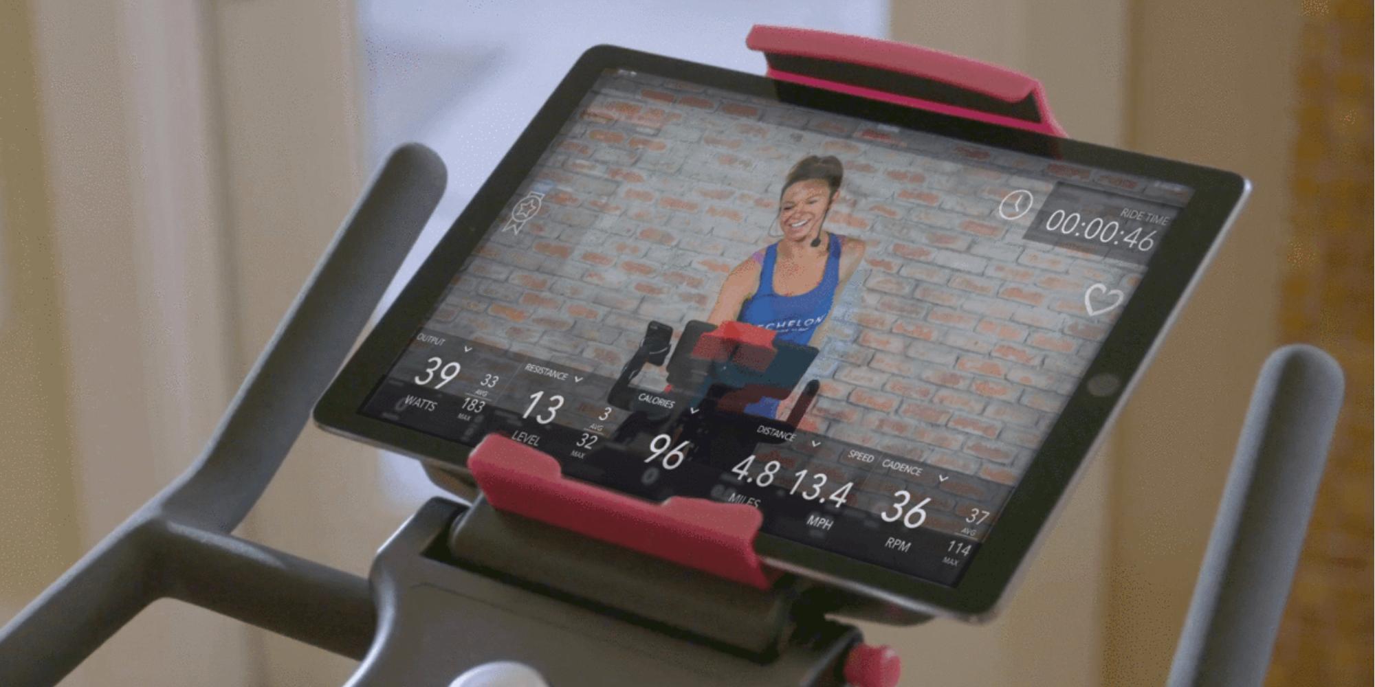 Echelon Connect Bike iPad app