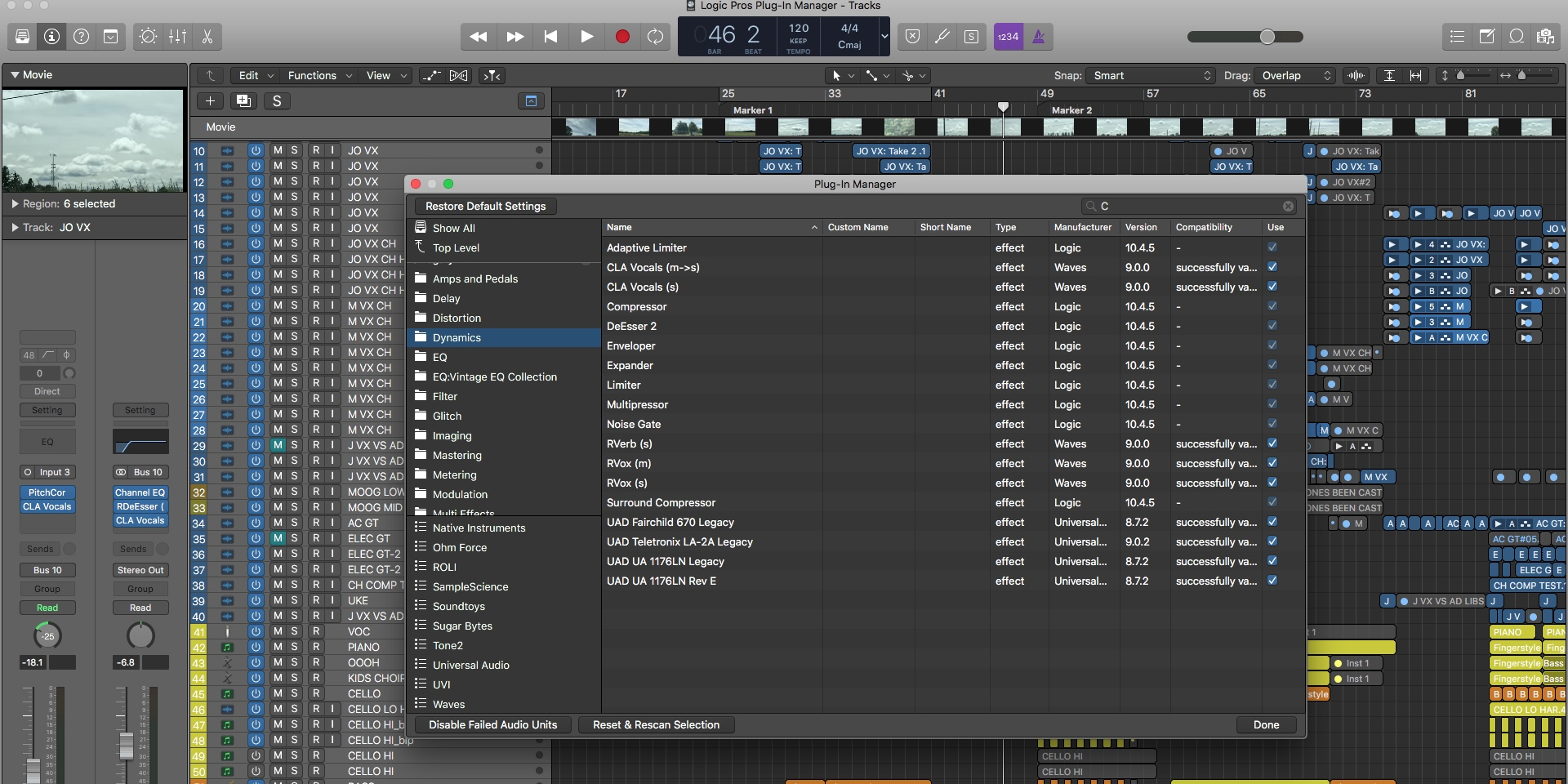 Logic Plug-In Manager: Custom FX/instrument folders, more - 9to5Mac