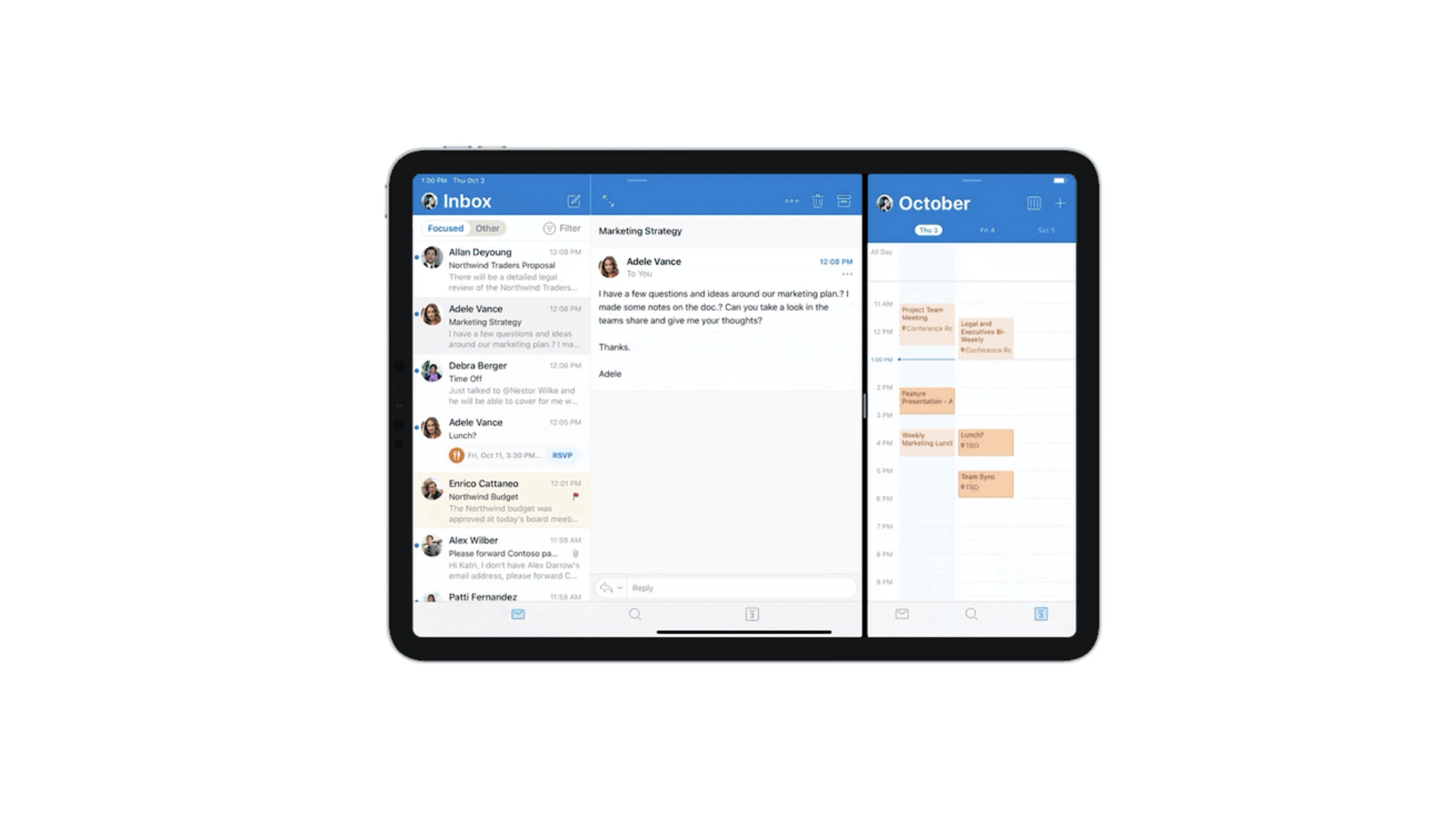 Microsoft Outlook brings long-awaited multitasking features to the iPad - 9to5Mac