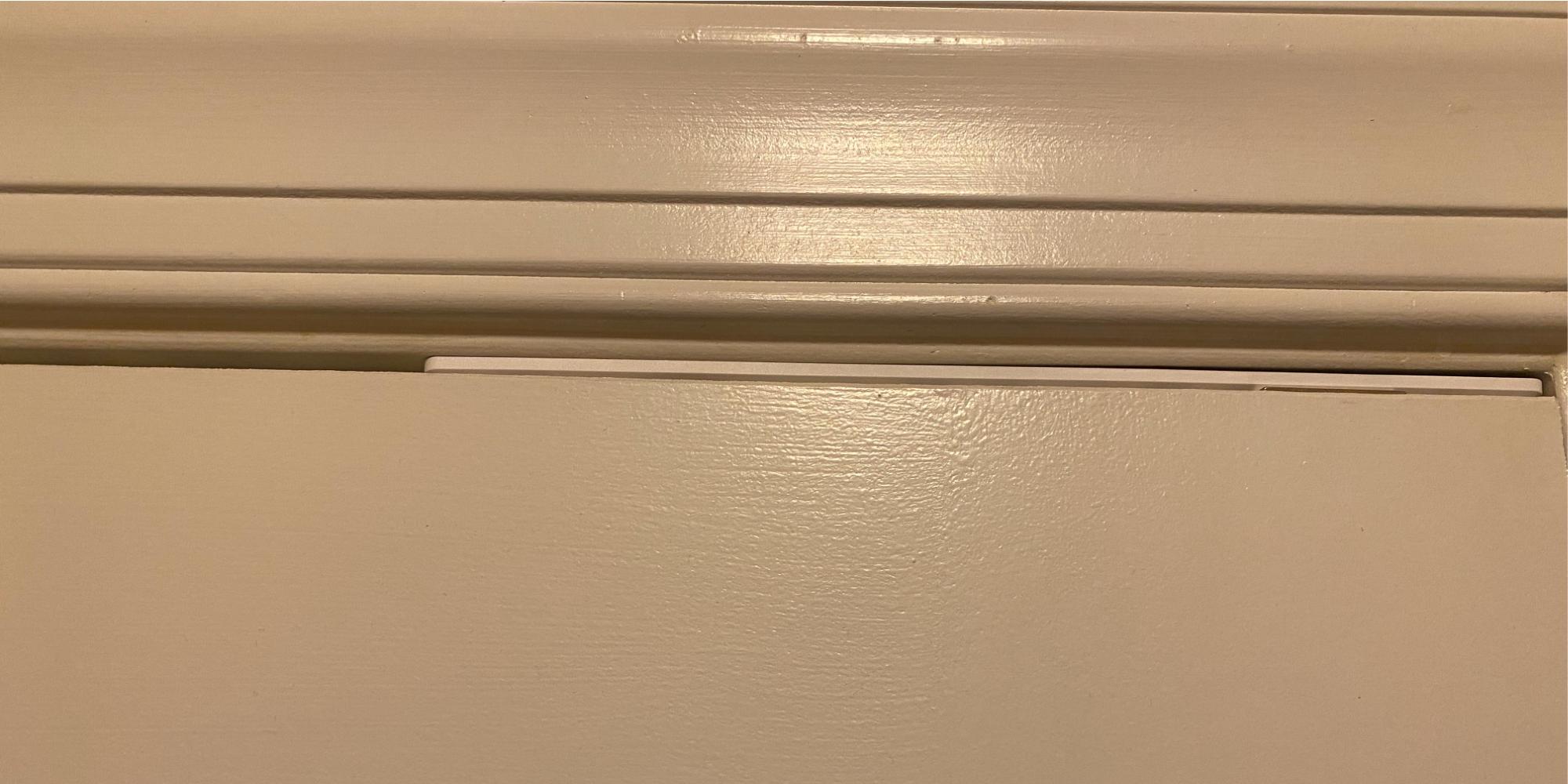 abode slimline door