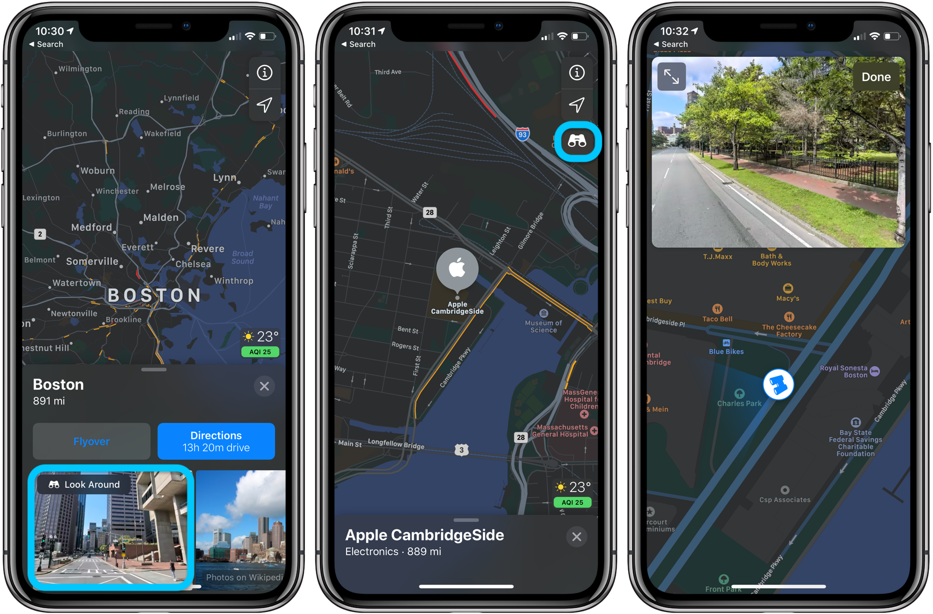 Apple Maps Look Around expands