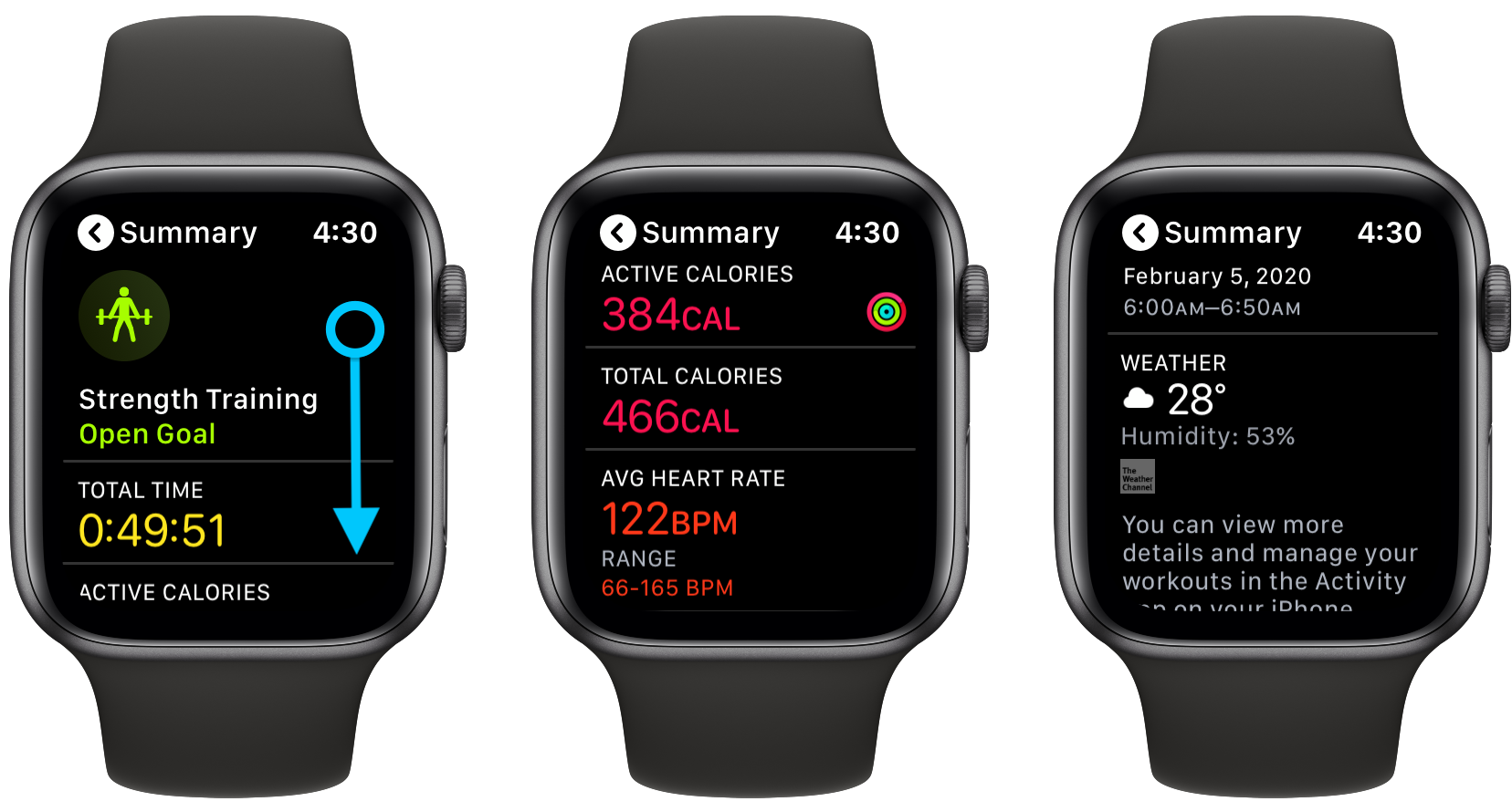 Apple Watch how to see workout history walkthrough 2