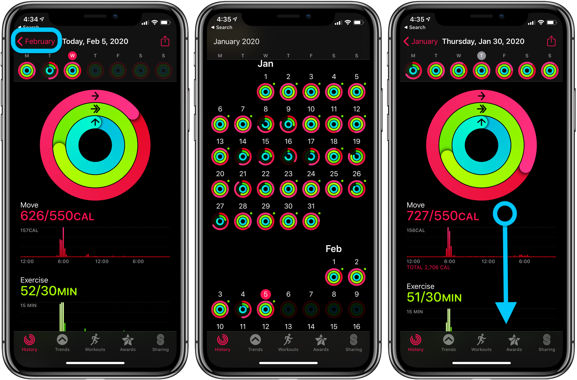 Apple Watch how to see workout history walkthrough 3