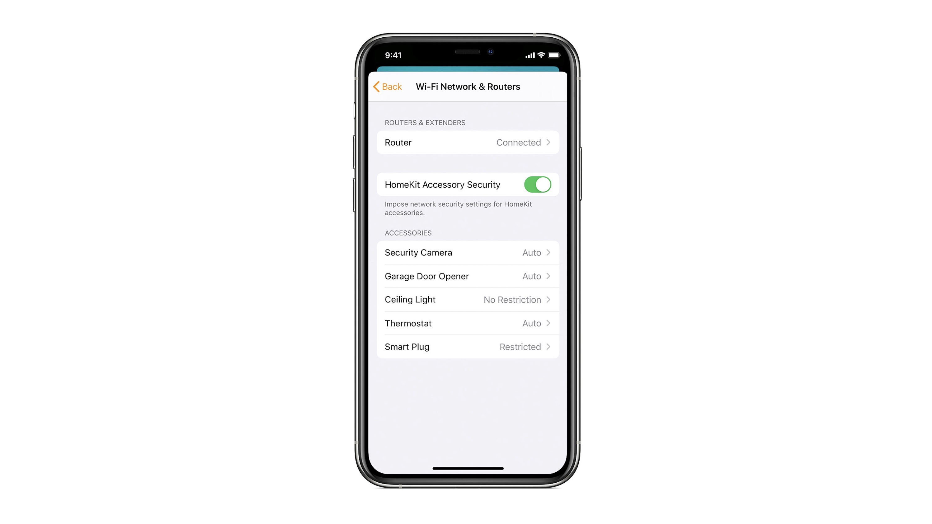 Apple support document details HomeKit router features and