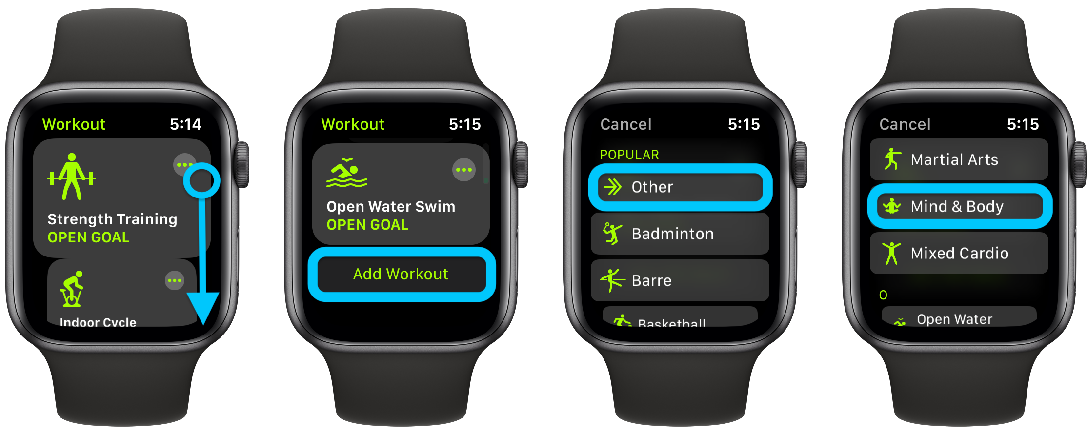 How to change Apple Watch Move goal Exercise goal