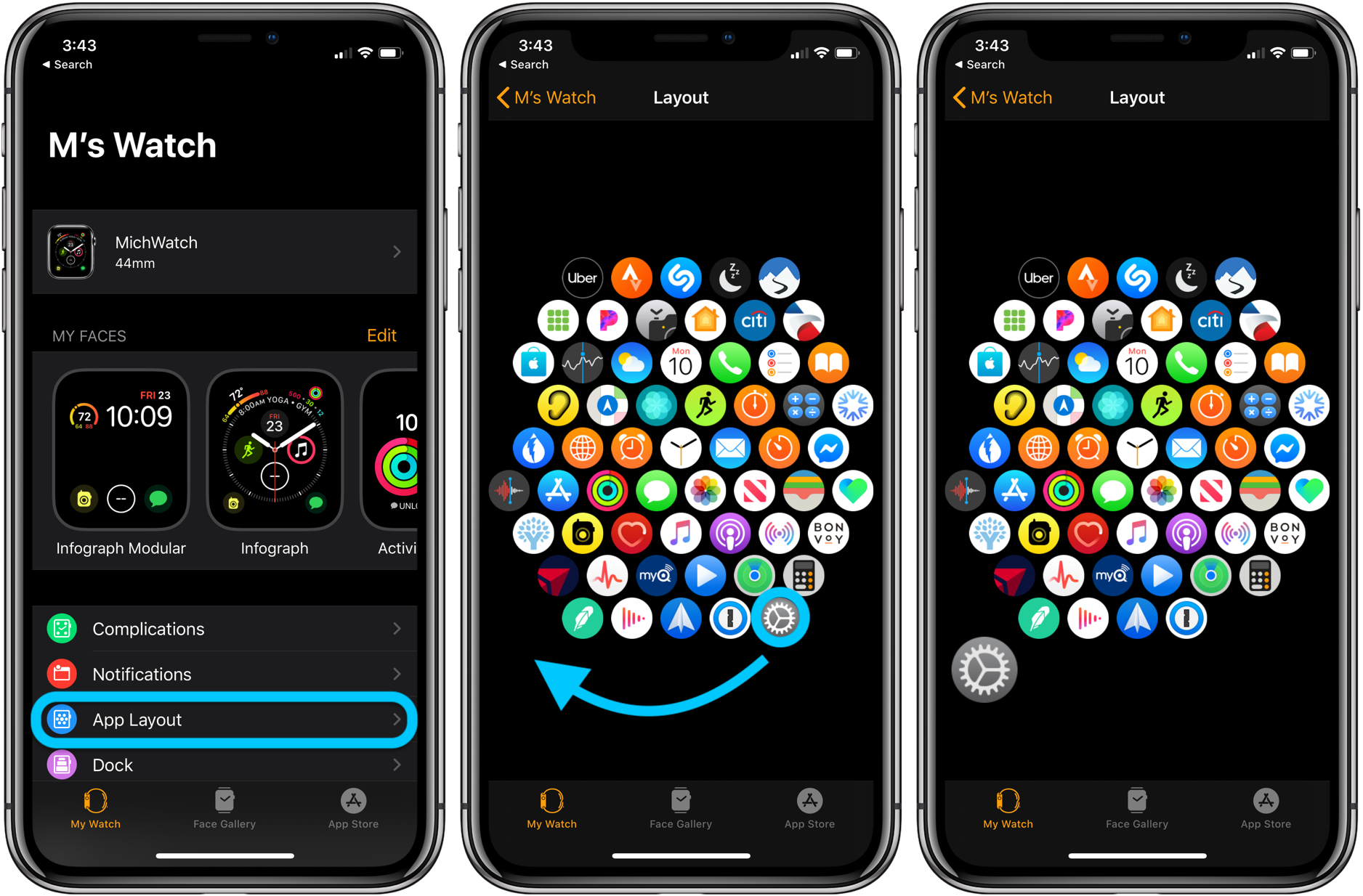 How to see all Apple Watch apps walkthrough 2