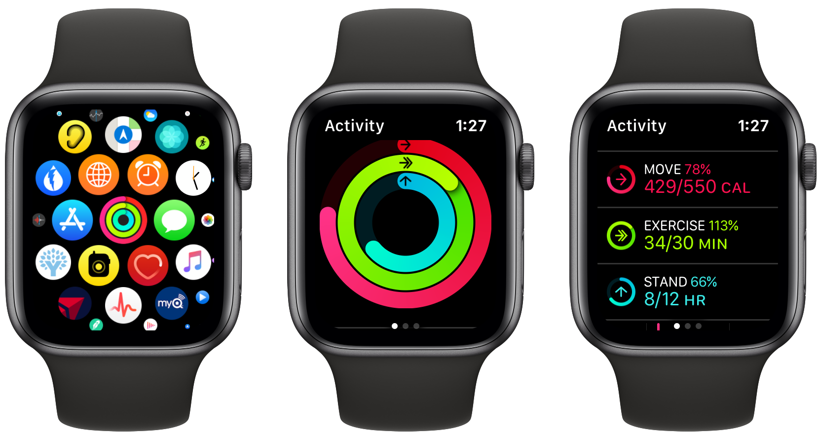 How to see Apple Watch calories burned, active and passive walkthrough