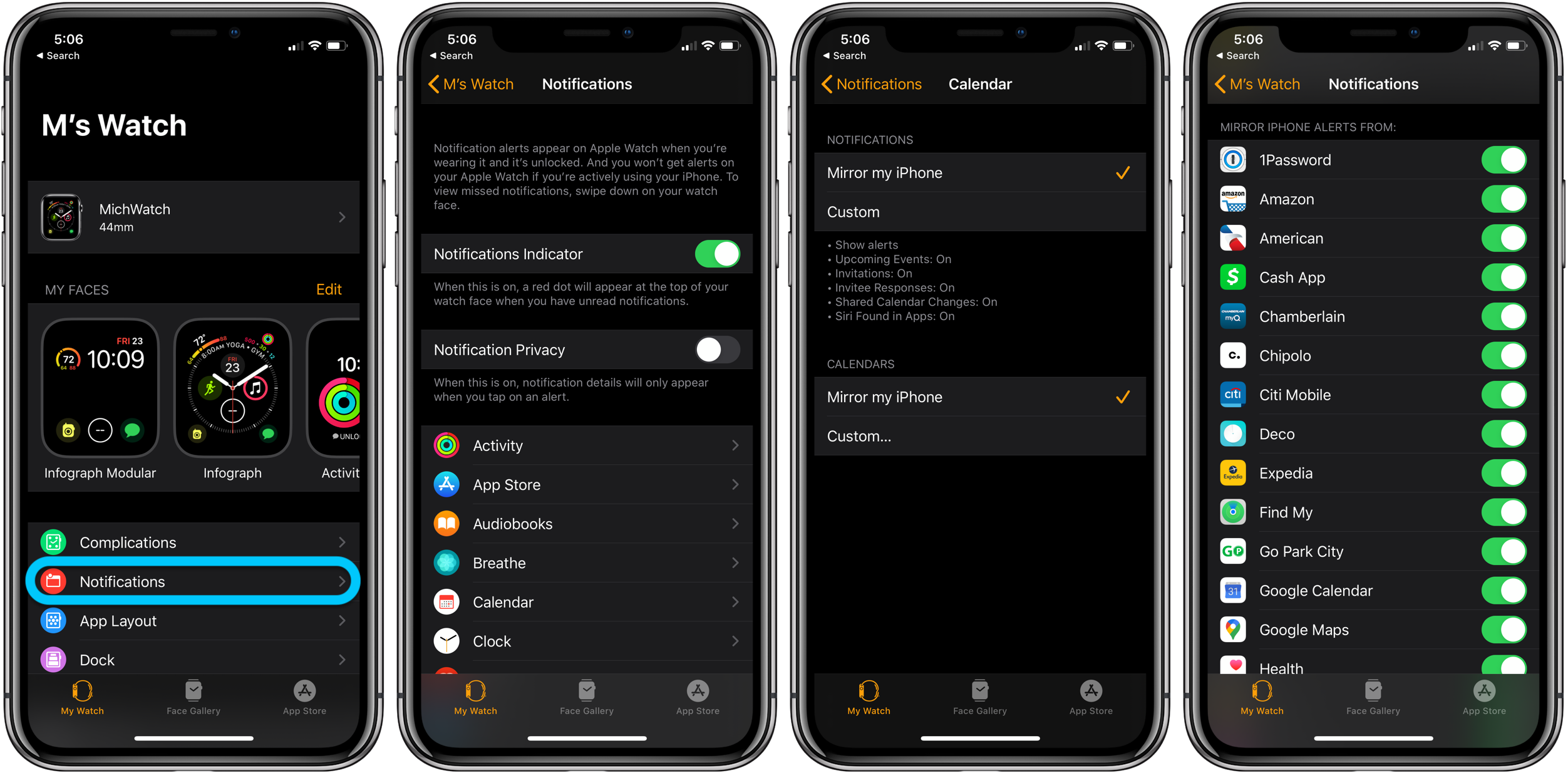 How to see Apple Watch notifications walkthrough 2
