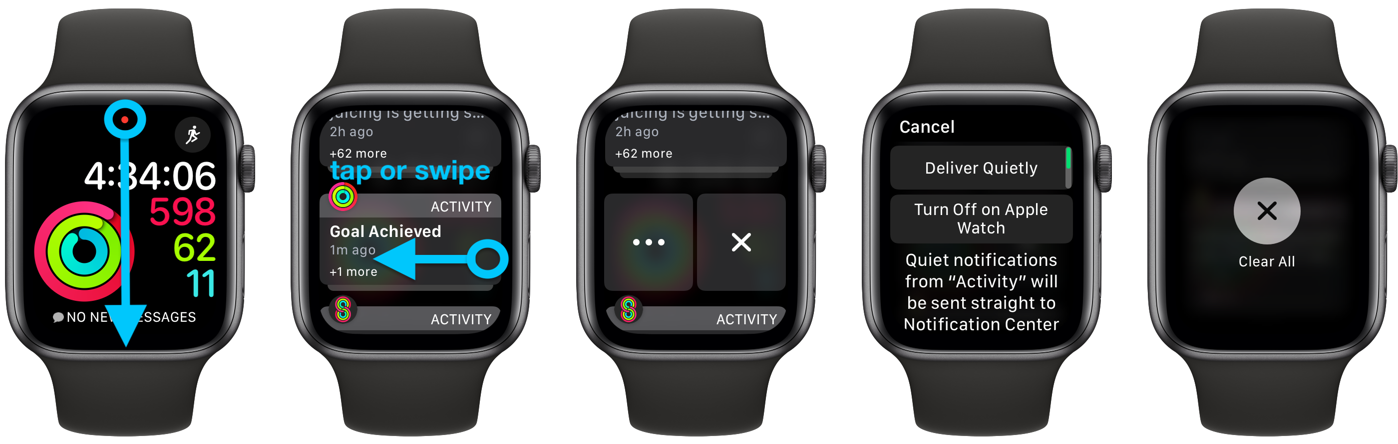 How to see Apple Watch notifications walkthrough 1