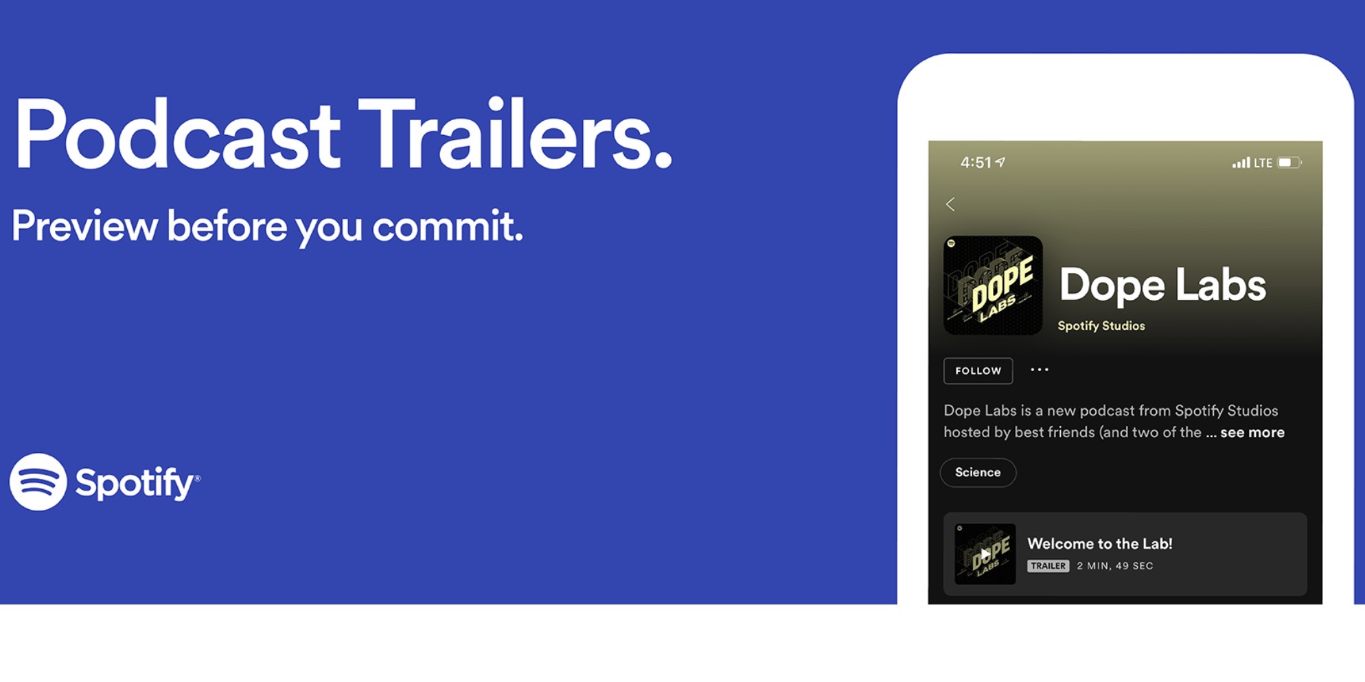 Spotify updates podcast show pages with trailers and Apple-inspired design - 9to5Mac