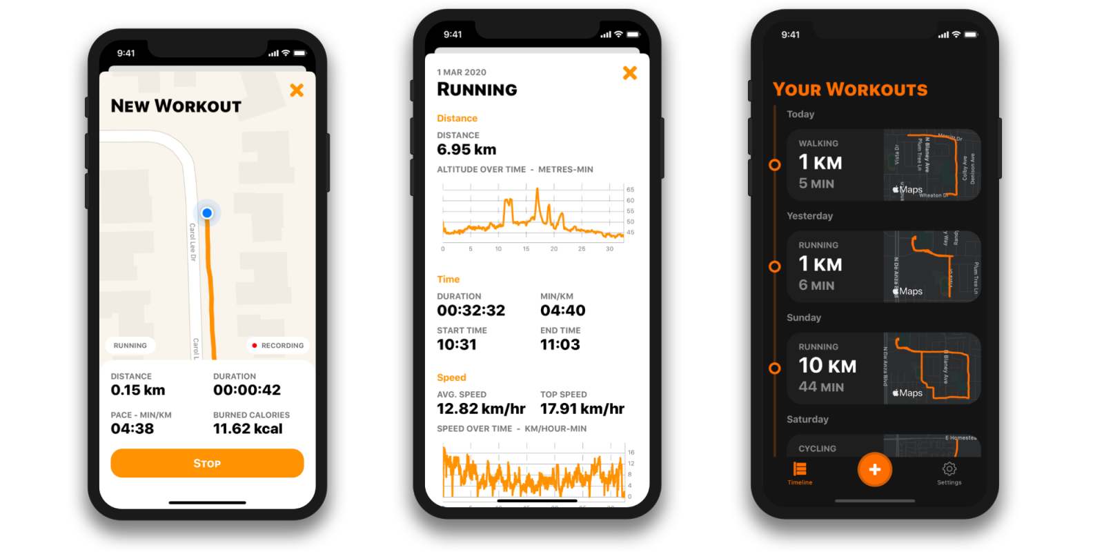 photo of OutRun is a simple iPhone run tracker that is privacy focused and integrates with Apple Health image