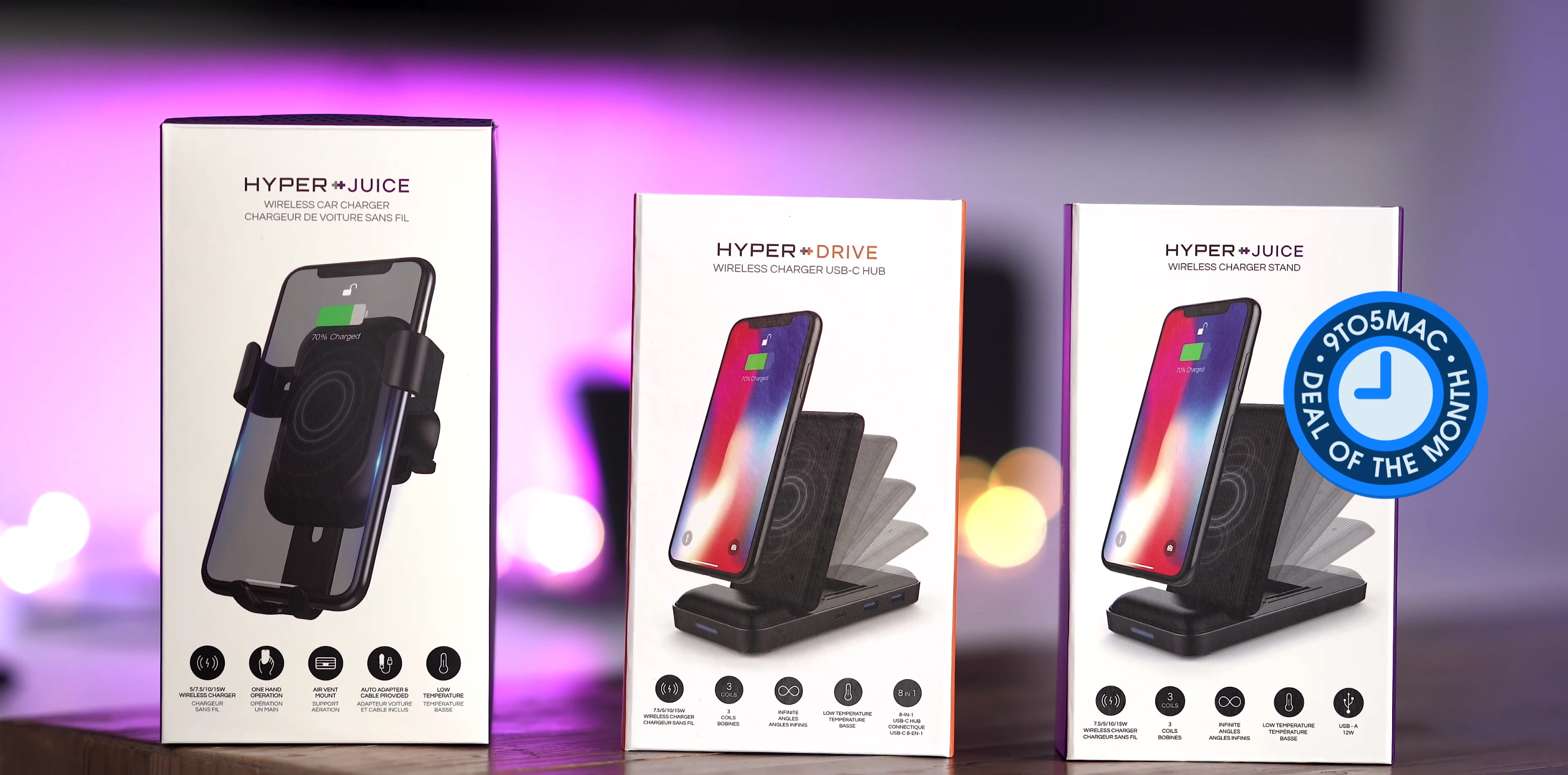 Deal of the Month: Get 50% off HyperDrive wireless charger + USB hub, car charger & more