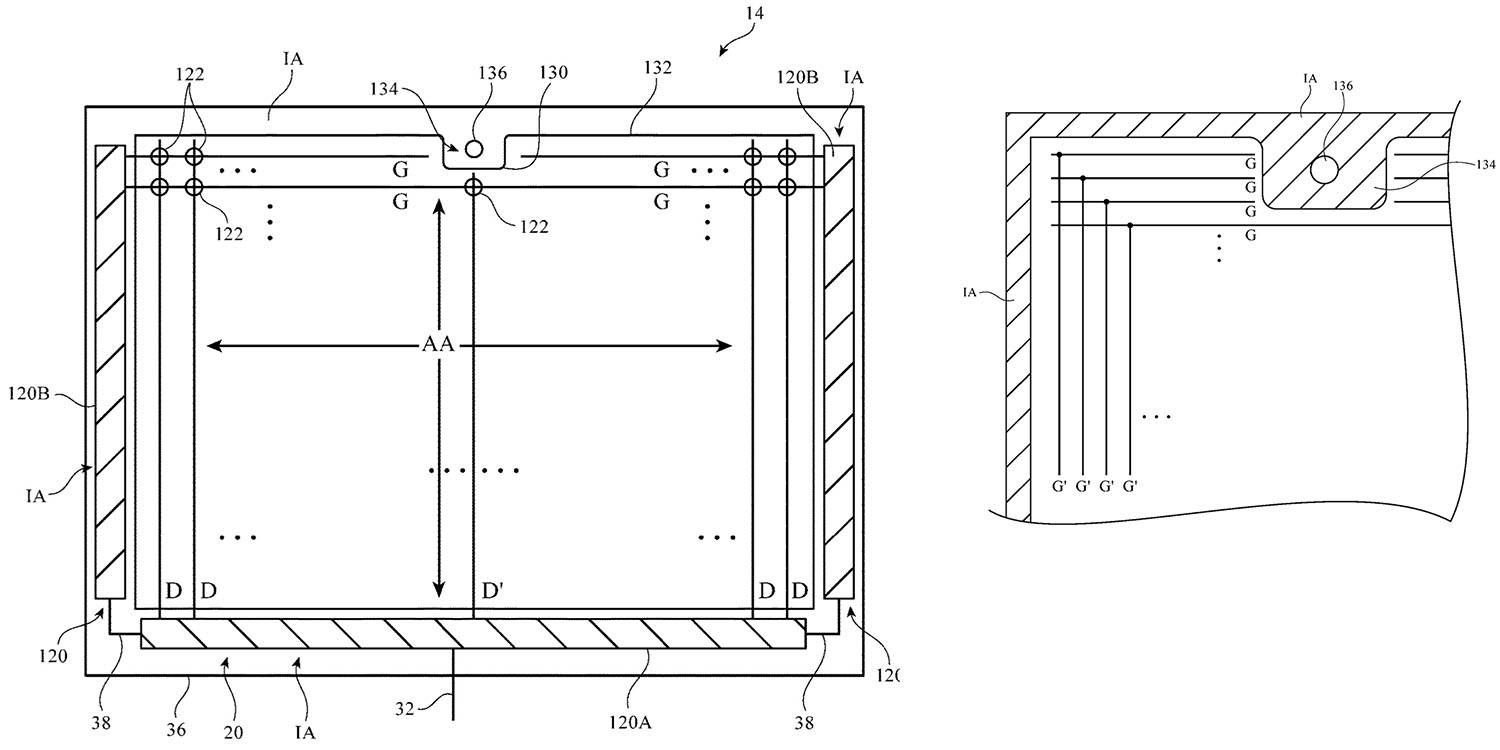 photo of Apple patent shows landscape iPad use as the new normal, but with a notch image
