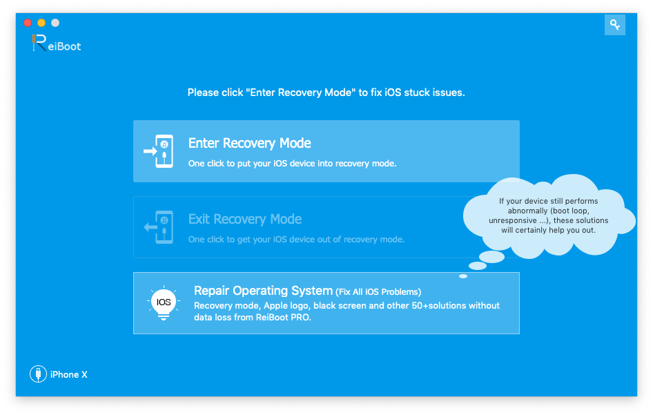 Download Reiboot iOS & Apple TV system recovery tool for free now