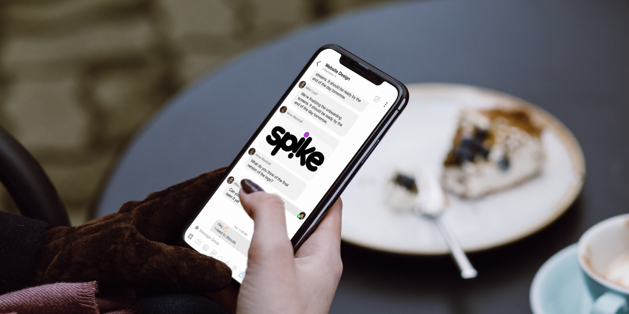 Spike Email app