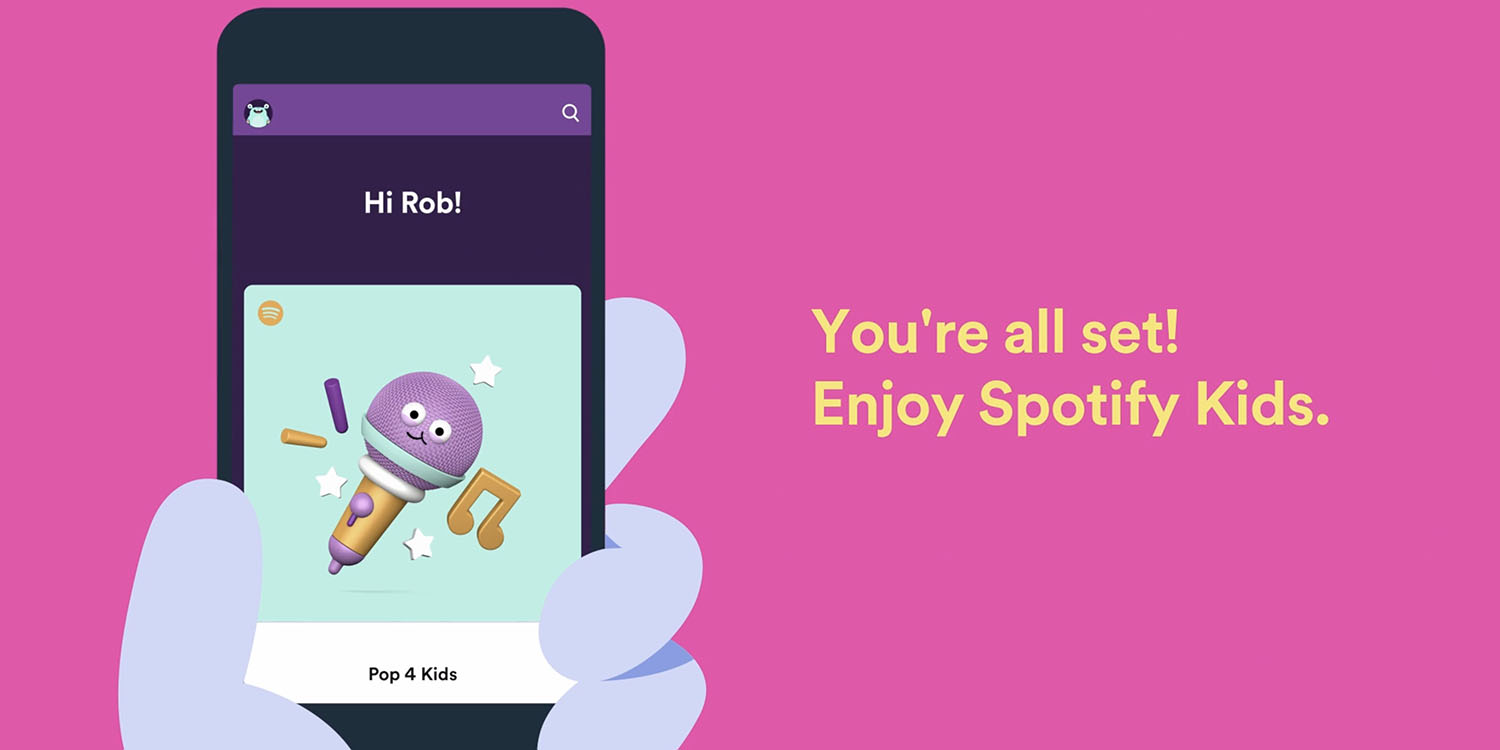 photo of Spotify Kids app launches in the US w/ curated content, no ads, better privacy image